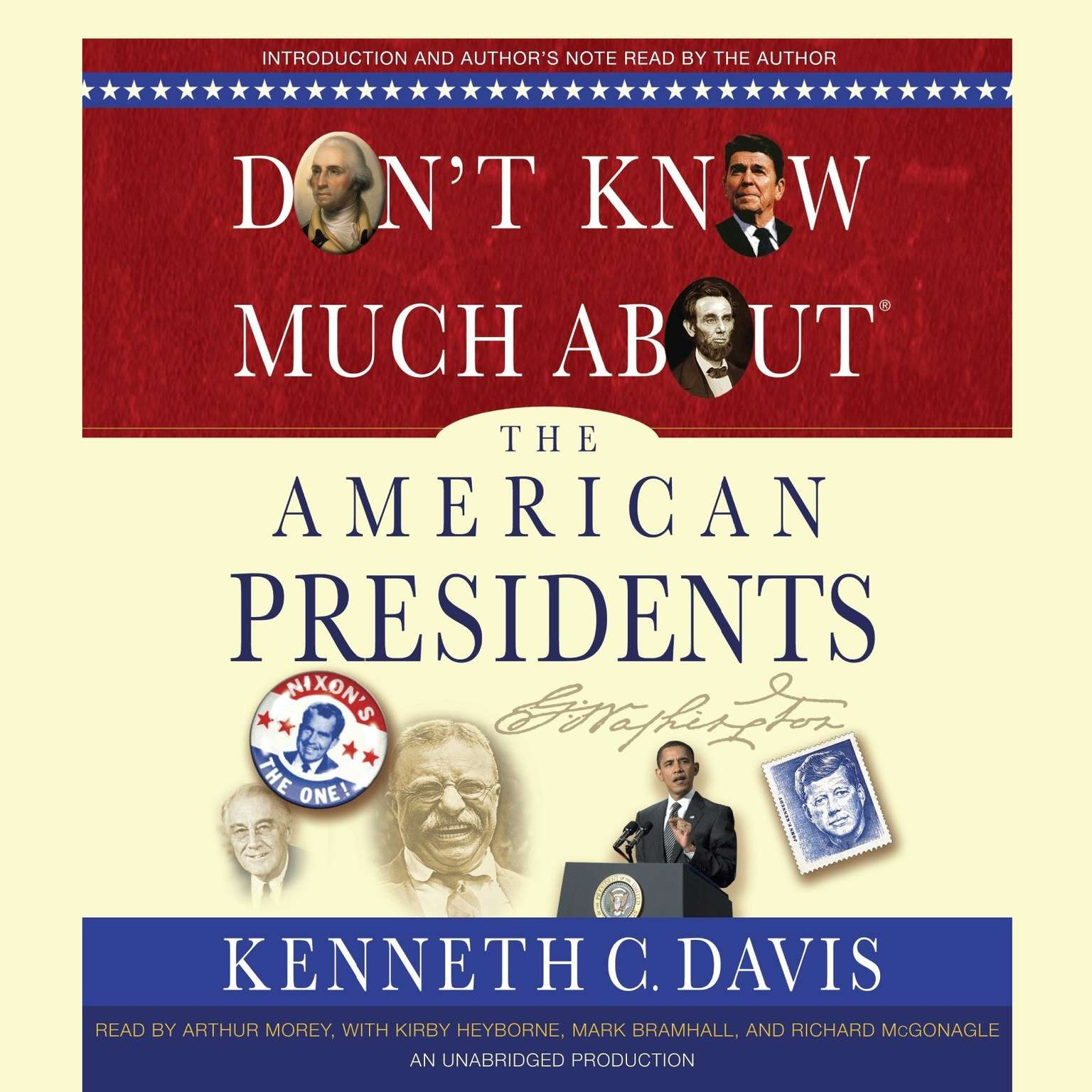 Printable Don't Know Much About the American Presidents Audiobook Cover Art