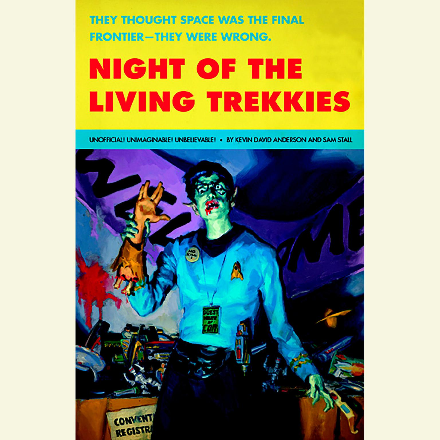 Printable Night of the Living Trekkies Audiobook Cover Art