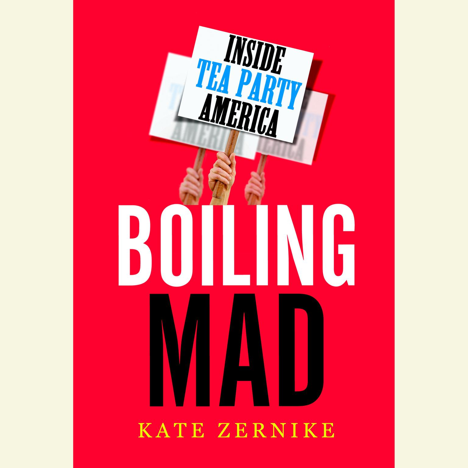 Printable Boiling Mad: Inside Tea Party America Audiobook Cover Art