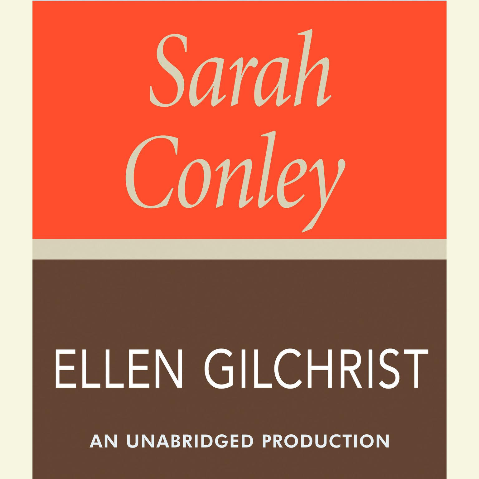 Printable Sarah Conley: A Novel Audiobook Cover Art