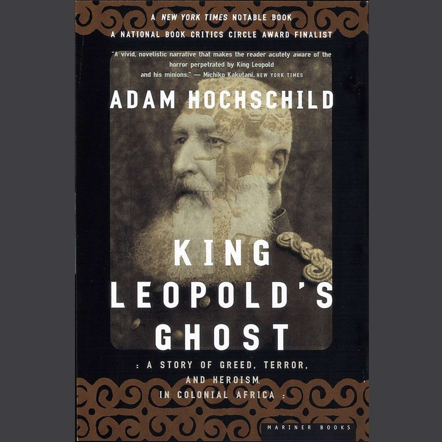 Printable King Leopold's Ghost: A Story of Greed, Terror, and Heroism in Colonial Africa Audiobook Cover Art
