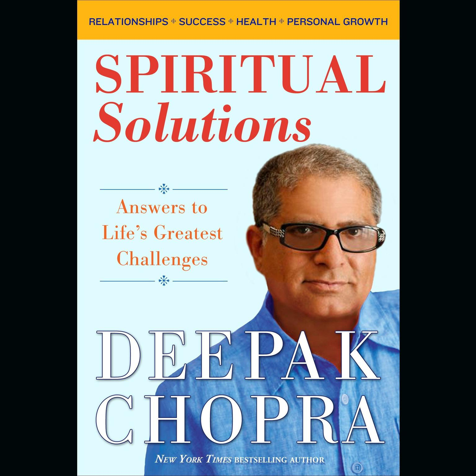 Printable Spiritual Solutions: Answers to Life's Greatest Challenges Audiobook Cover Art