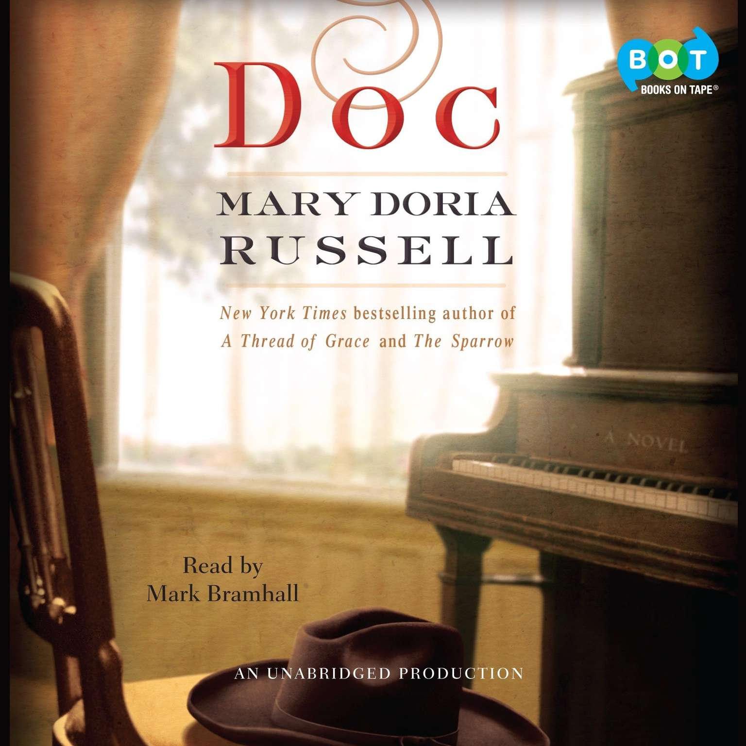 Printable Doc: A Novel Audiobook Cover Art