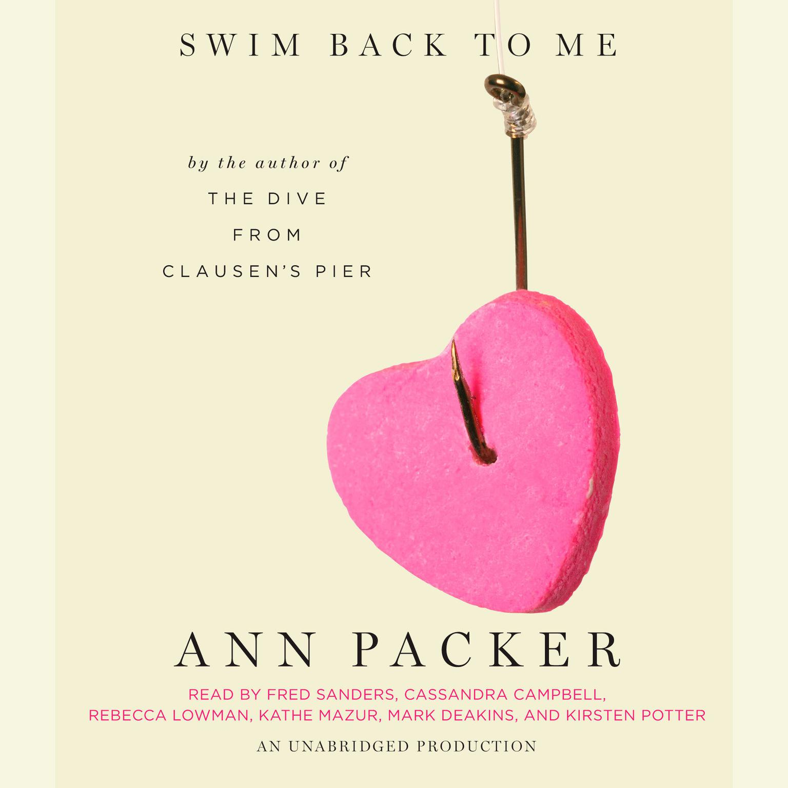 Printable Swim Back to Me Audiobook Cover Art