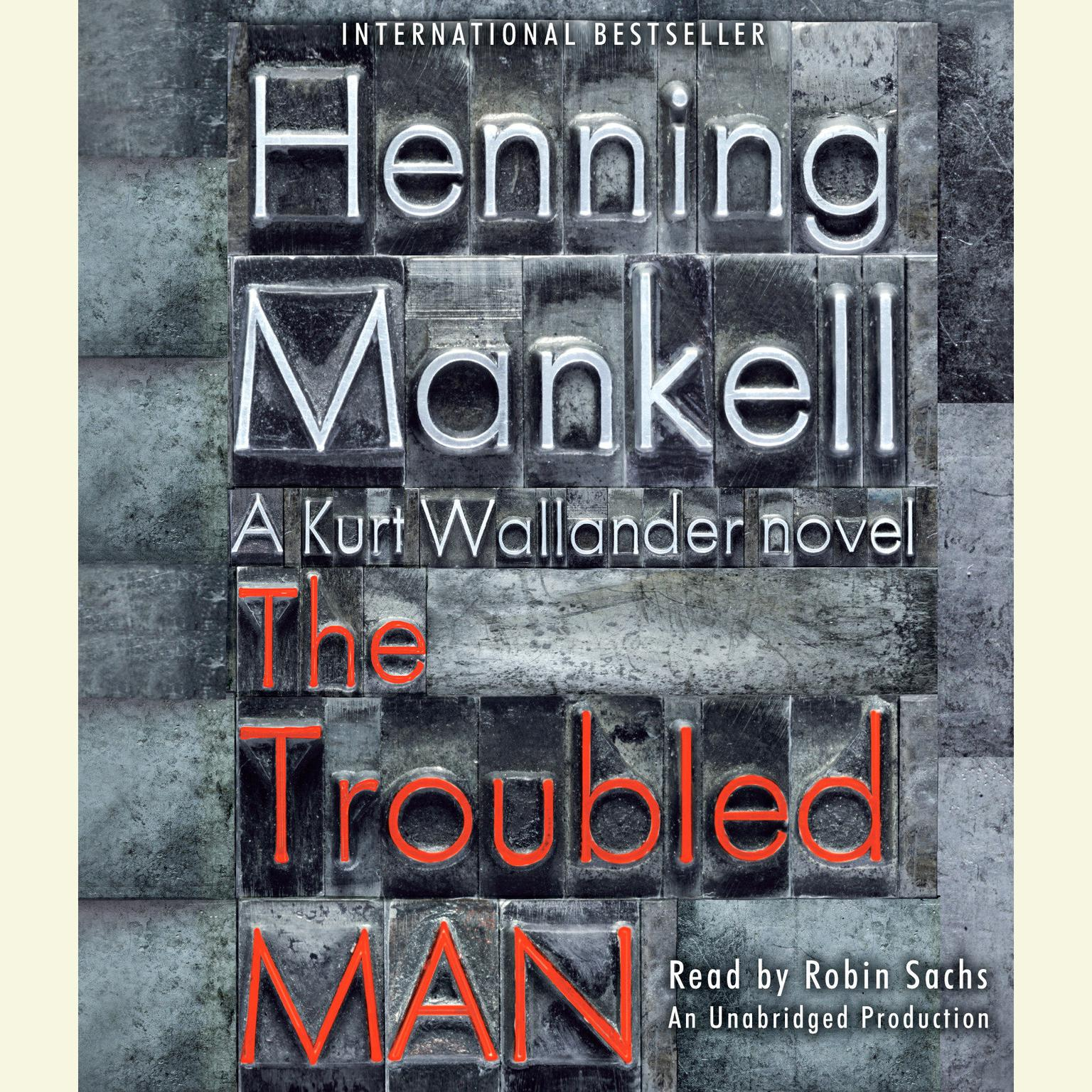 Printable The Troubled Man Audiobook Cover Art