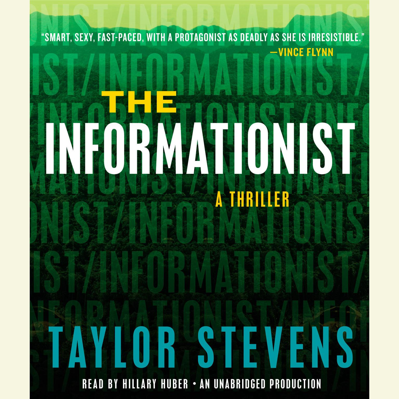Printable The Informationist: A Thriller Audiobook Cover Art