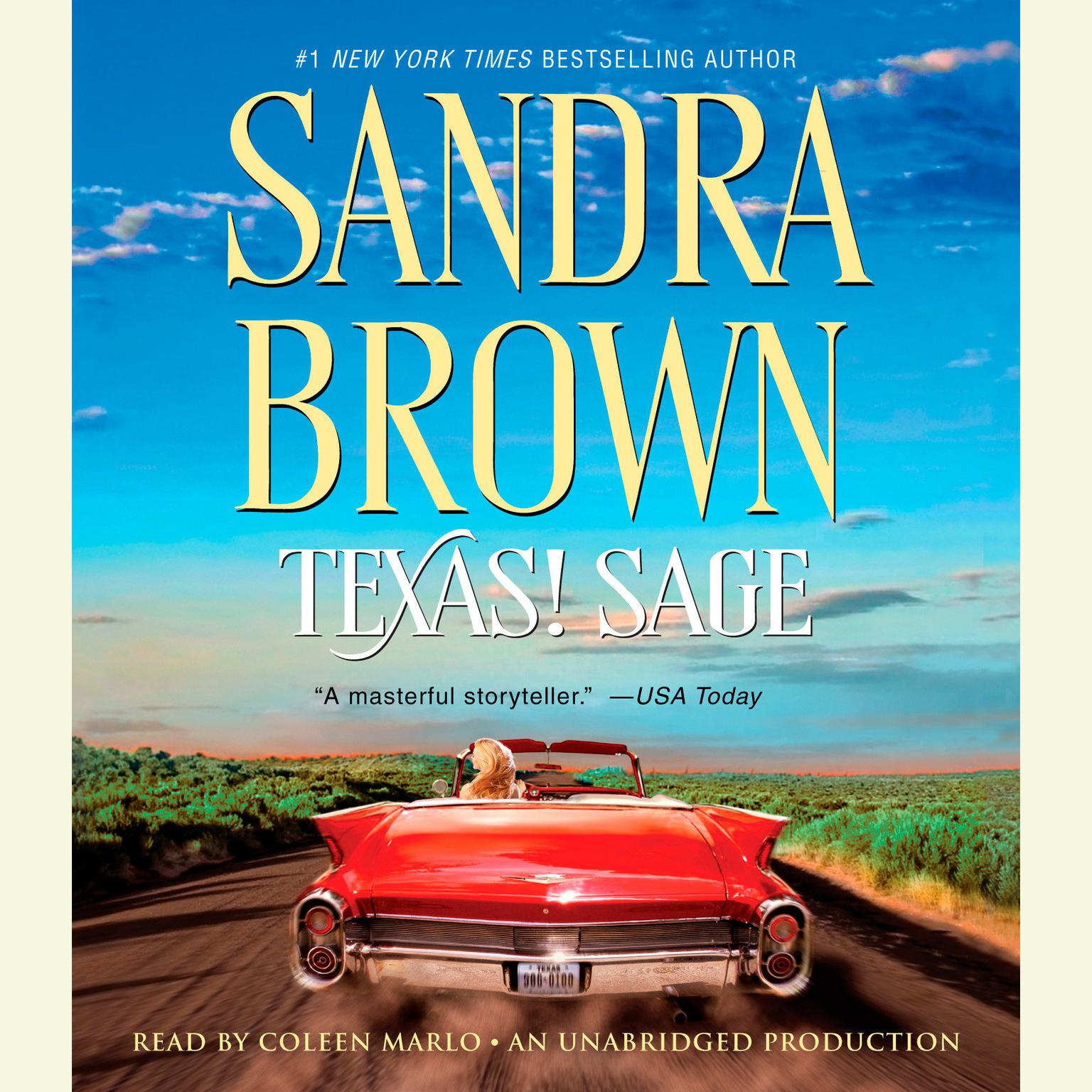 Printable Texas! Sage Audiobook Cover Art