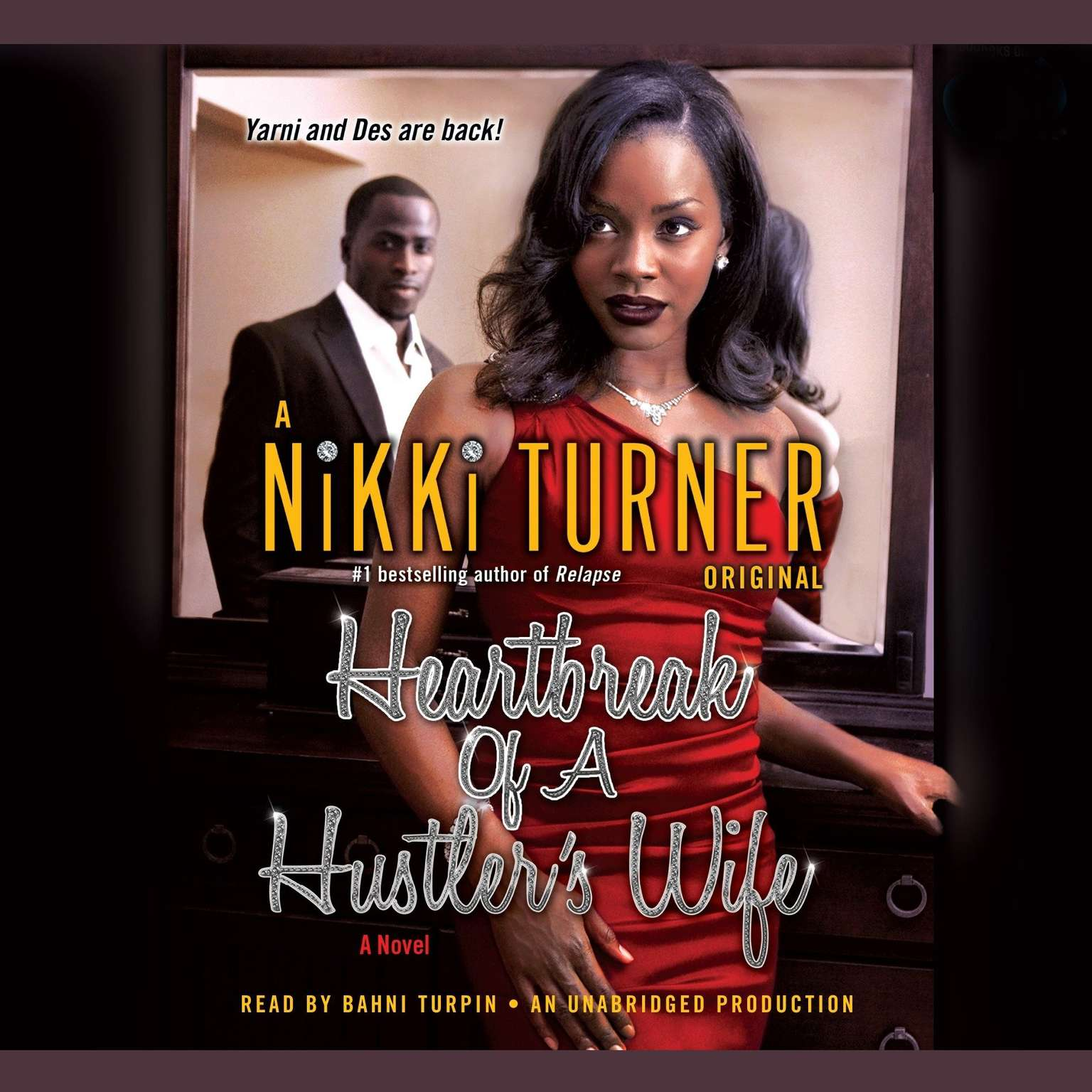 Printable Heartbreak of a Hustler's Wife: A Novel Audiobook Cover Art