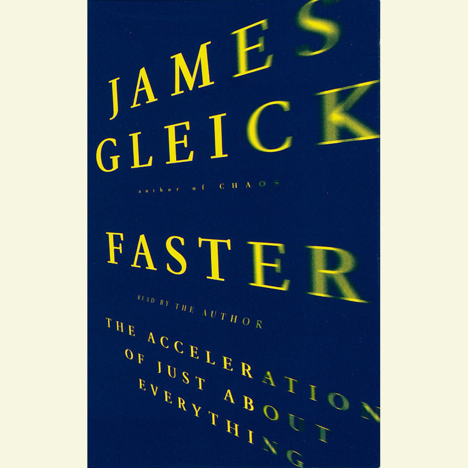 Printable Faster: The Acceleration of Just About Everything Audiobook Cover Art