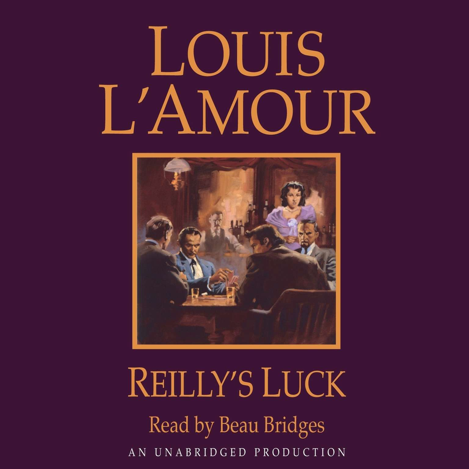 Printable Reilly's Luck Audiobook Cover Art