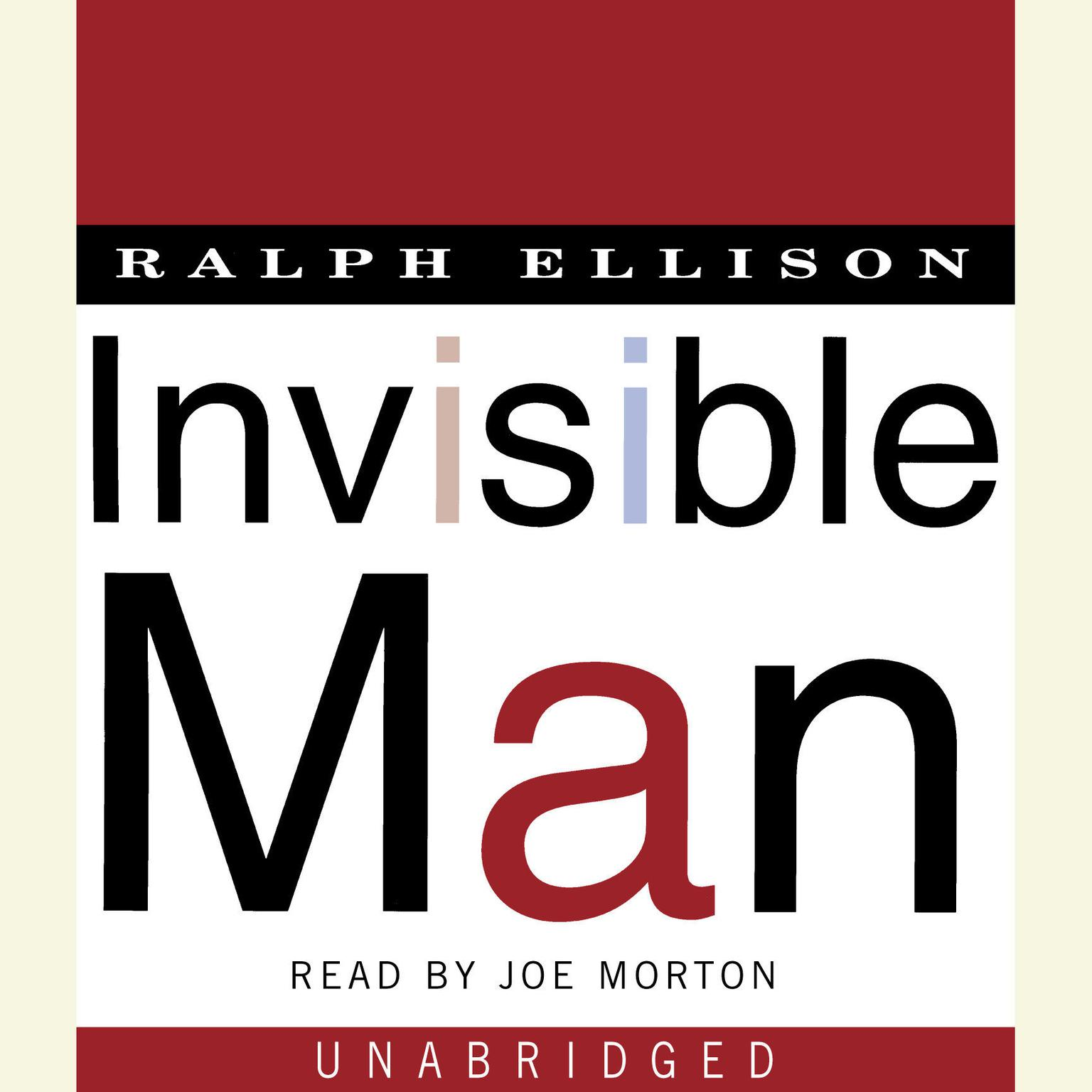 Printable Invisible Man: A Novel Audiobook Cover Art