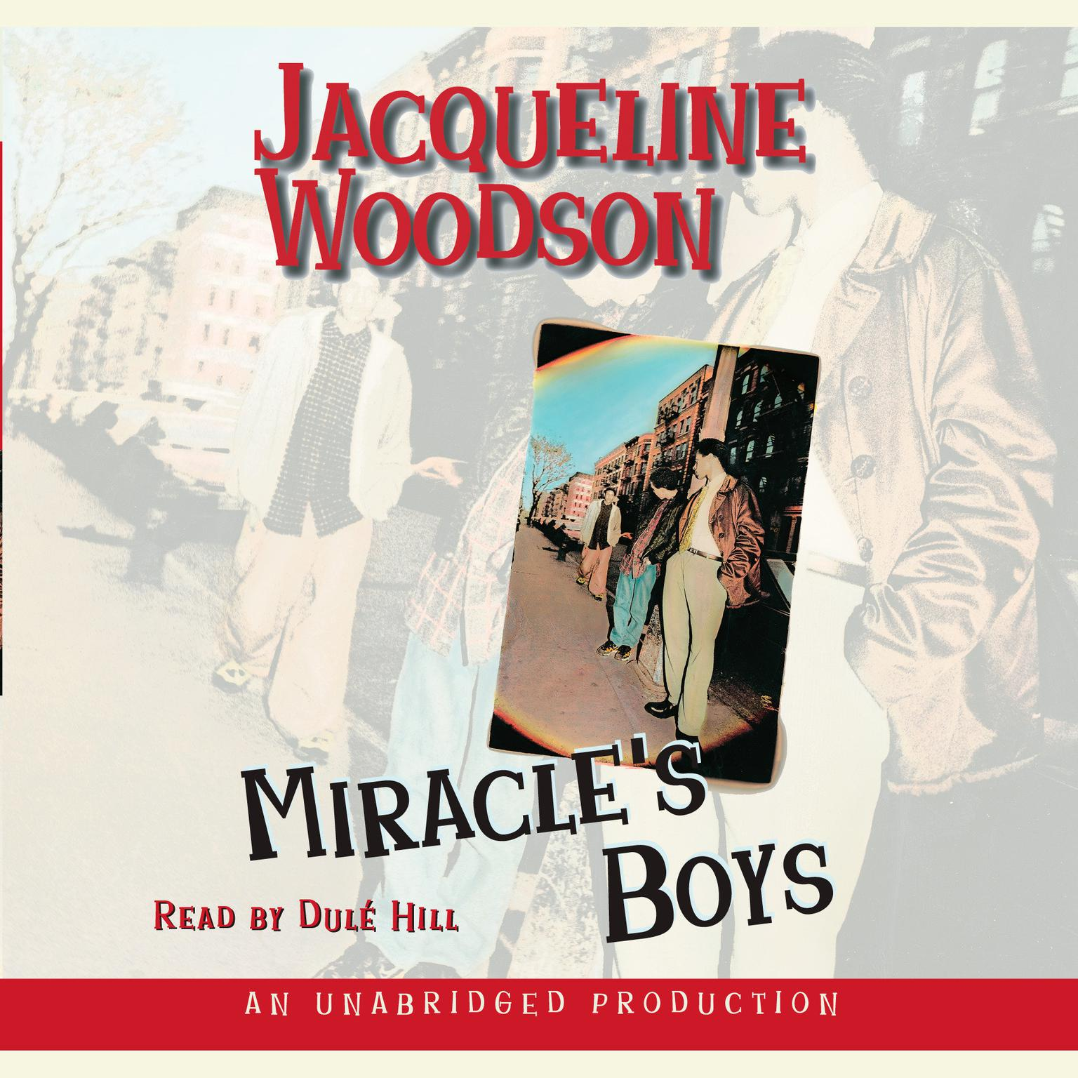 Printable Miracle's Boys Audiobook Cover Art