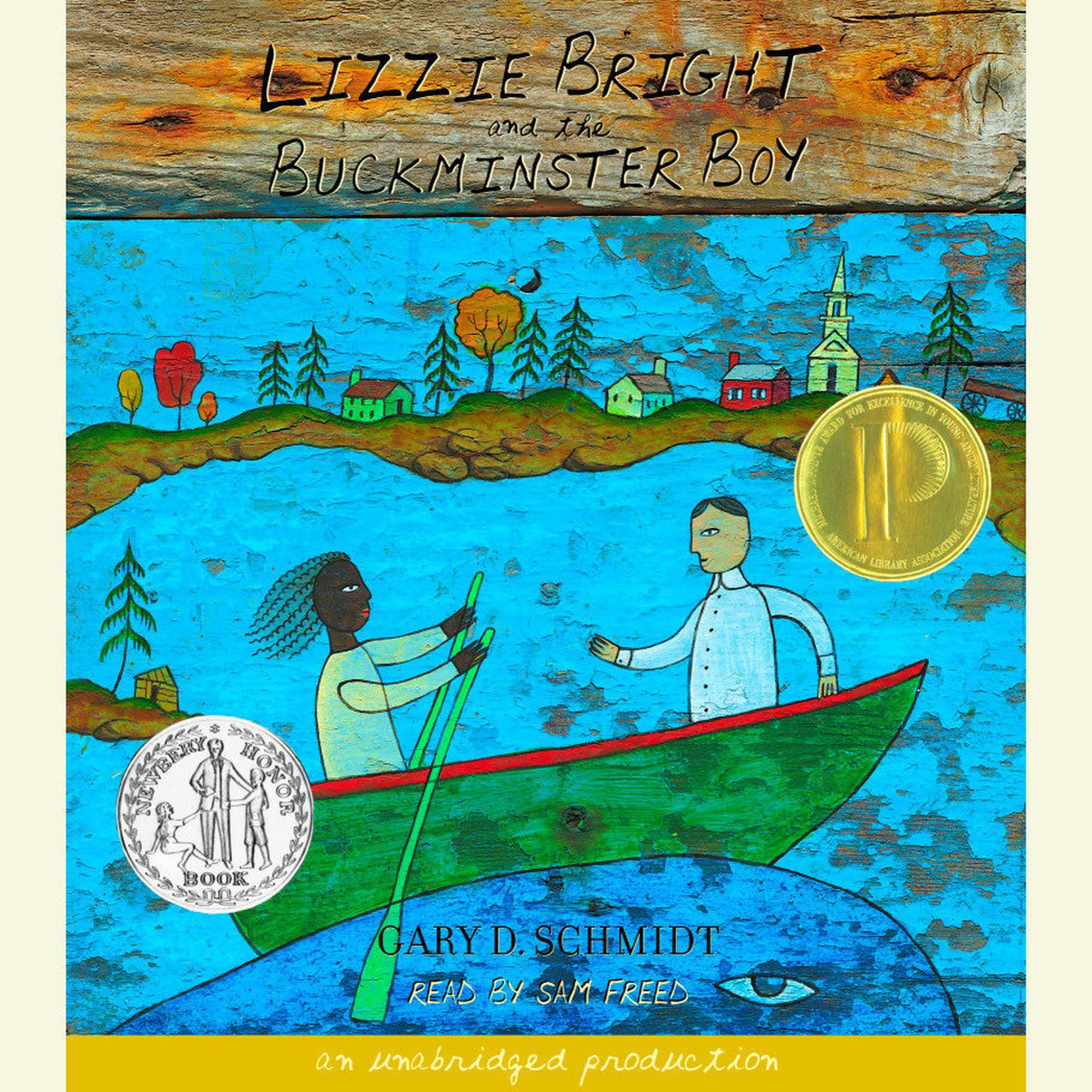 Printable Lizzie Bright and the Buckminster Boy Audiobook Cover Art