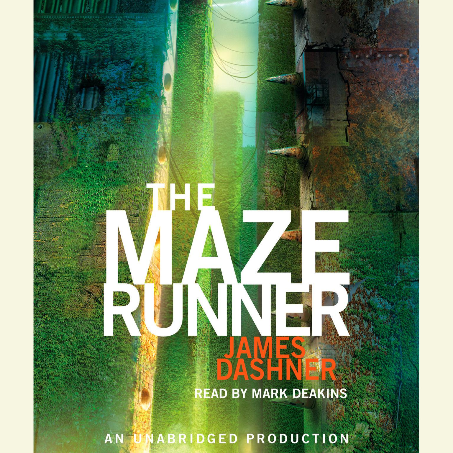 Printable The Maze Runner Audiobook Cover Art