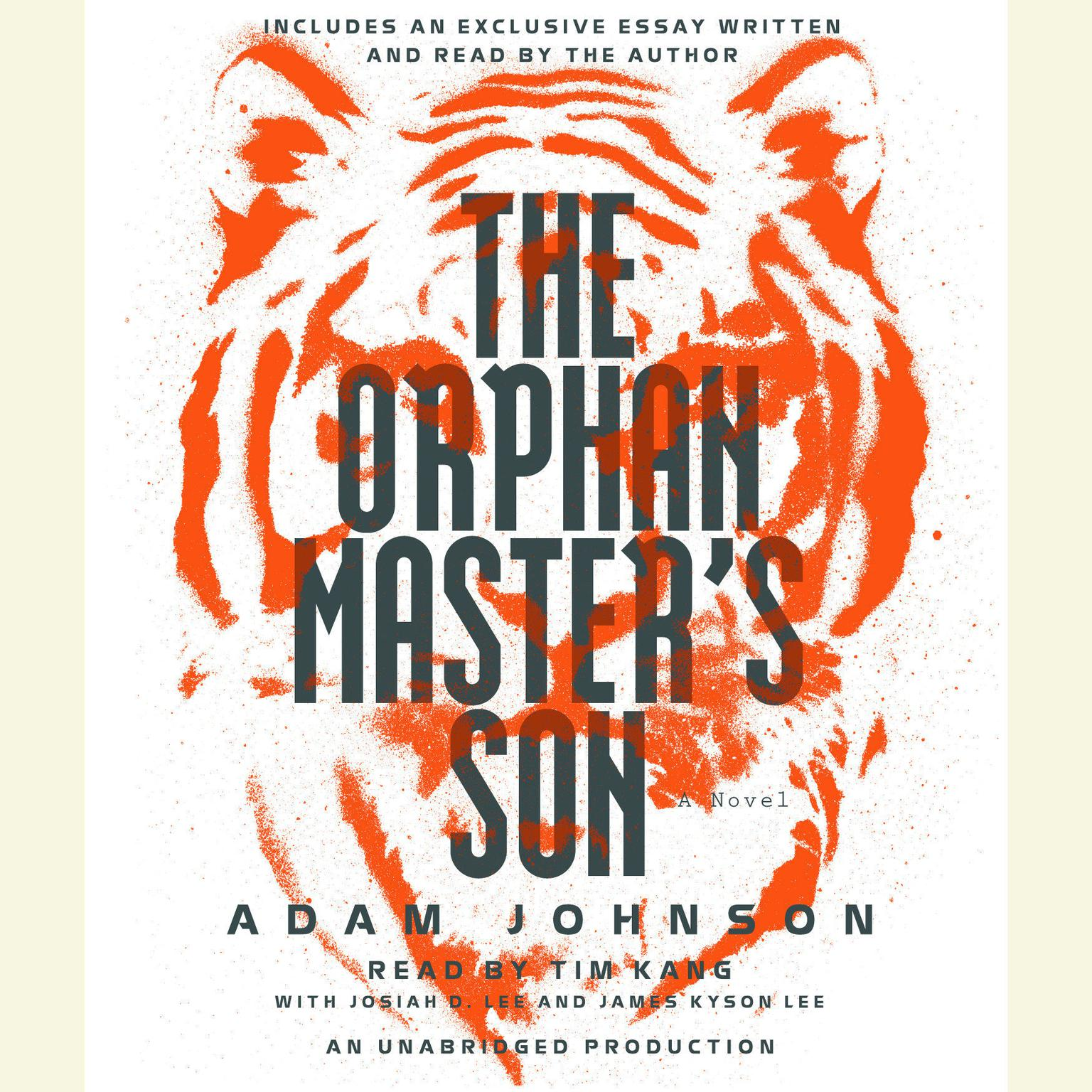 Printable The Orphan Master's Son Audiobook Cover Art