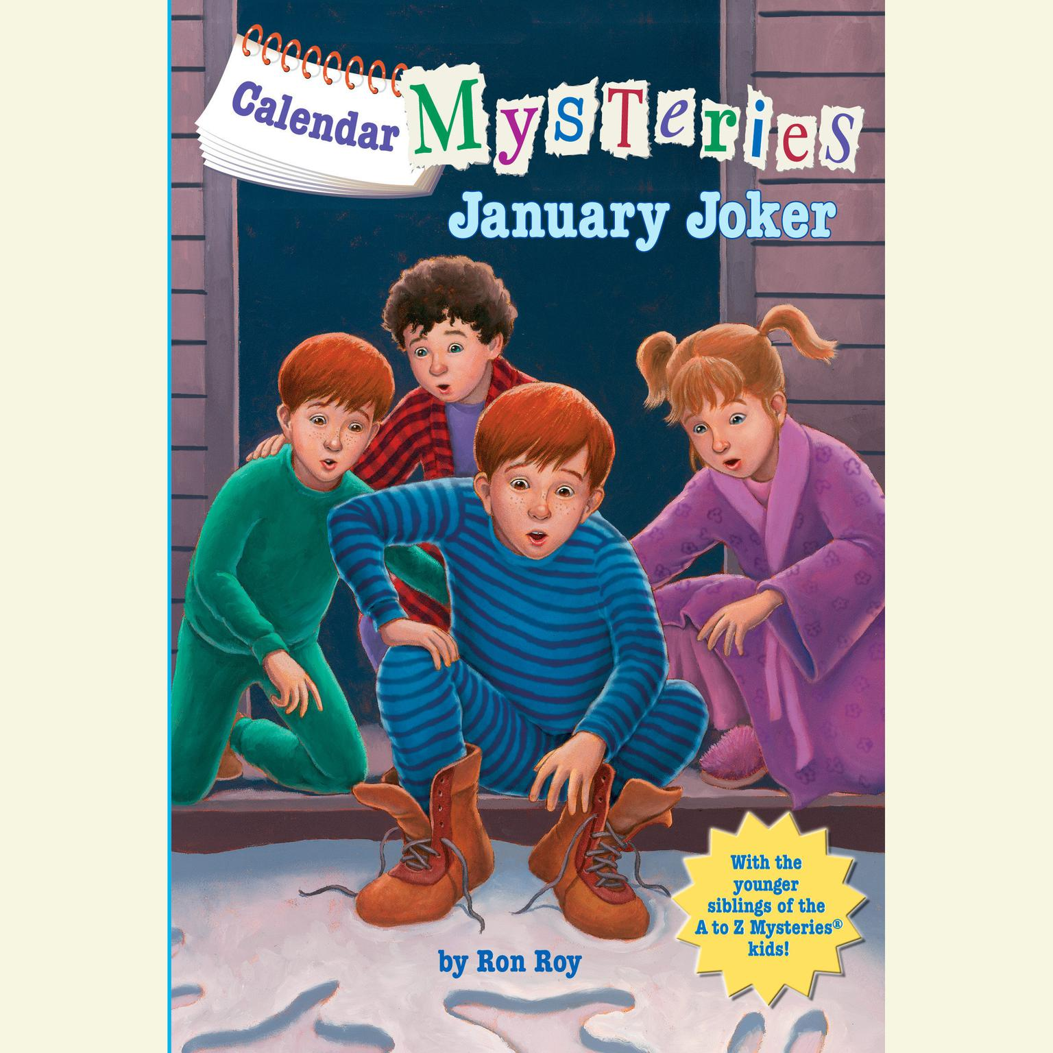 Printable Calendar Mysteries #1: January Joker Audiobook Cover Art