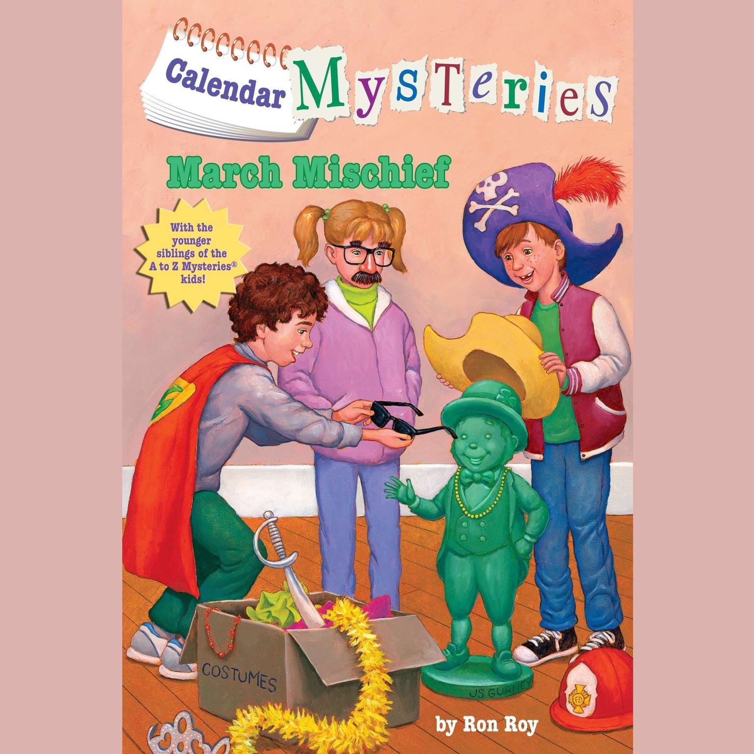 Printable March Mischief Audiobook Cover Art