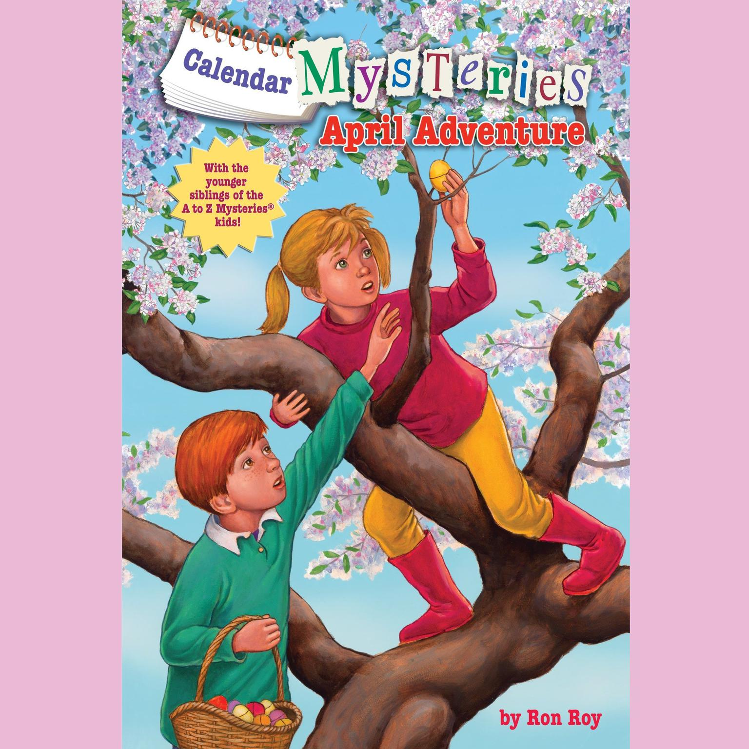 Printable Calendar Mysteries #4: April Adventure Audiobook Cover Art