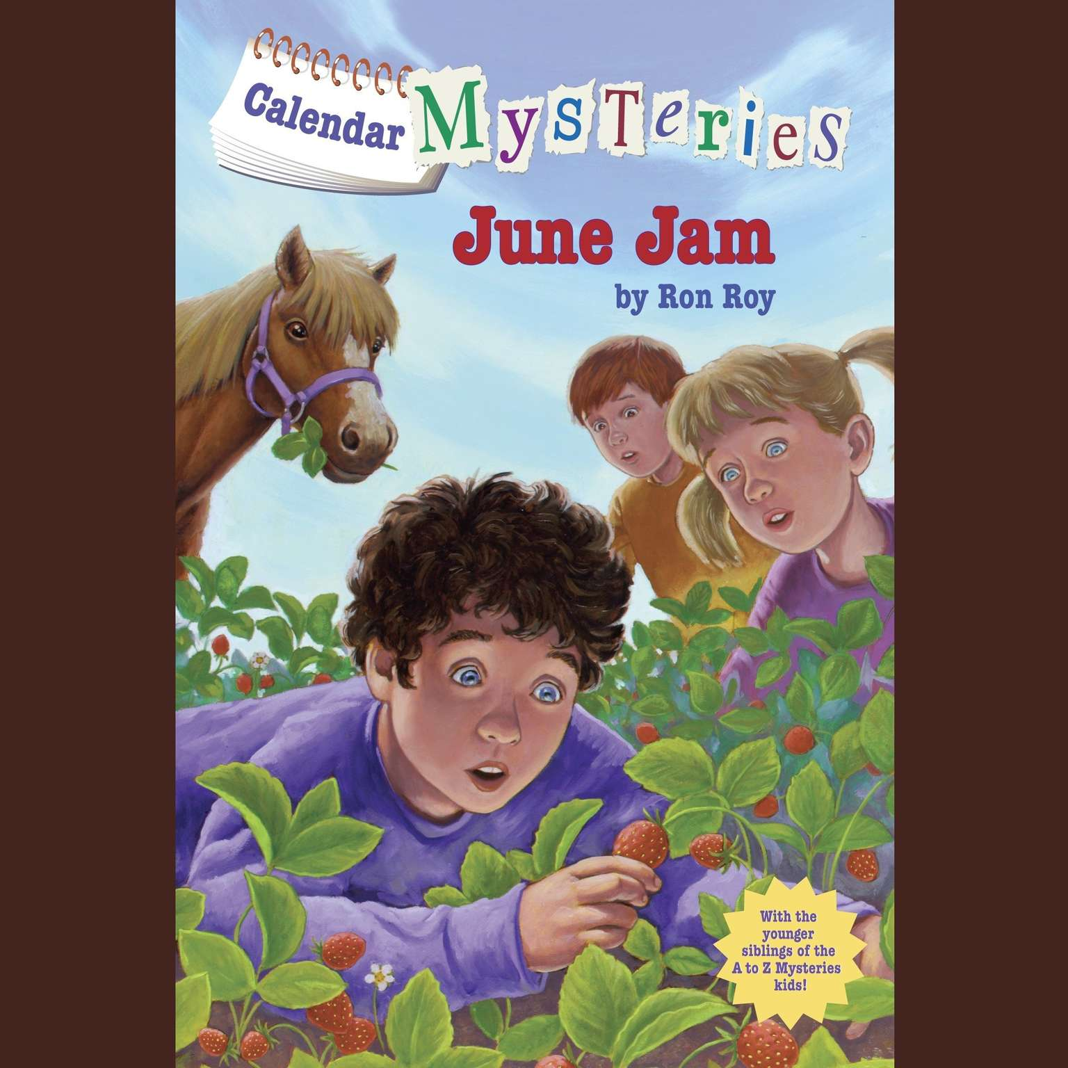Printable Calendar Mysteries #6: June Jam Audiobook Cover Art