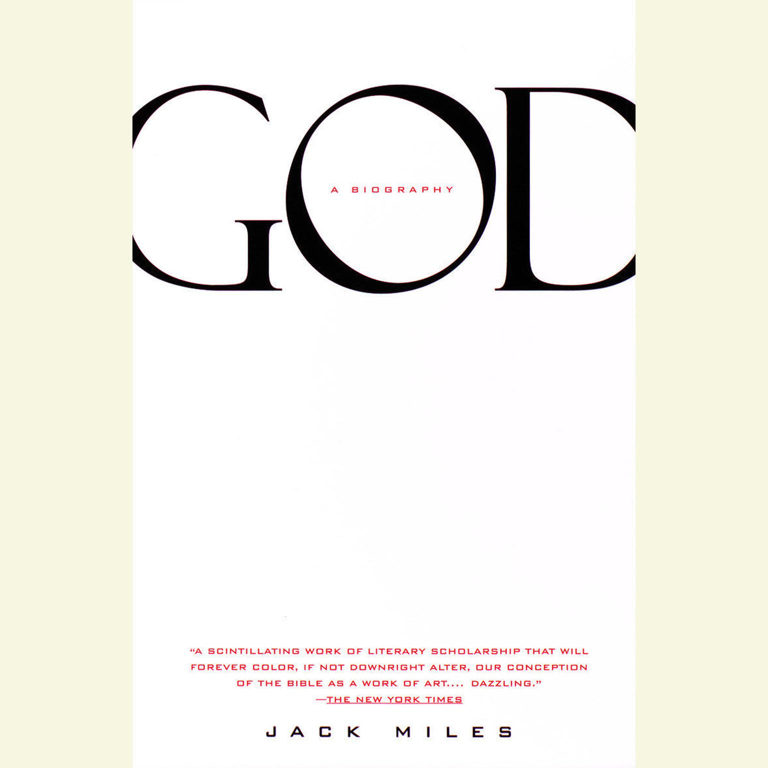 Printable God: A Biography Audiobook Cover Art