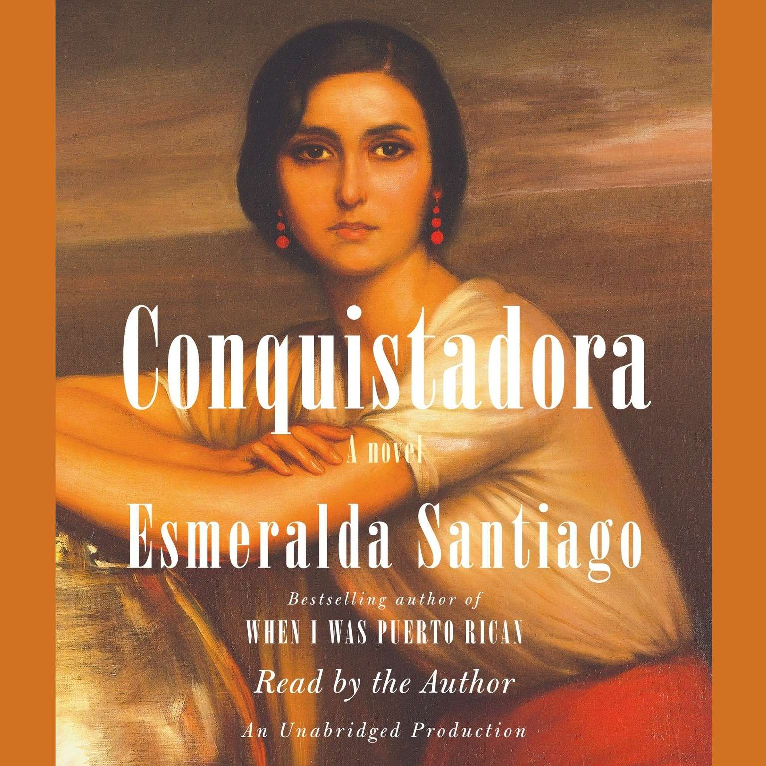 Printable Conquistadora Audiobook Cover Art