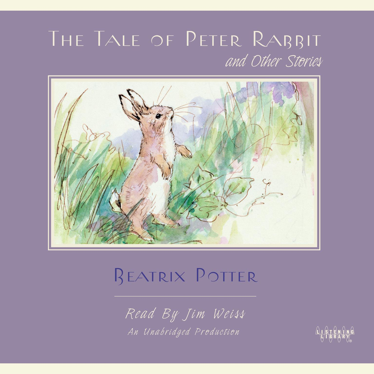 Printable The Tale of Peter Rabbit and Other Stories Audiobook Cover Art