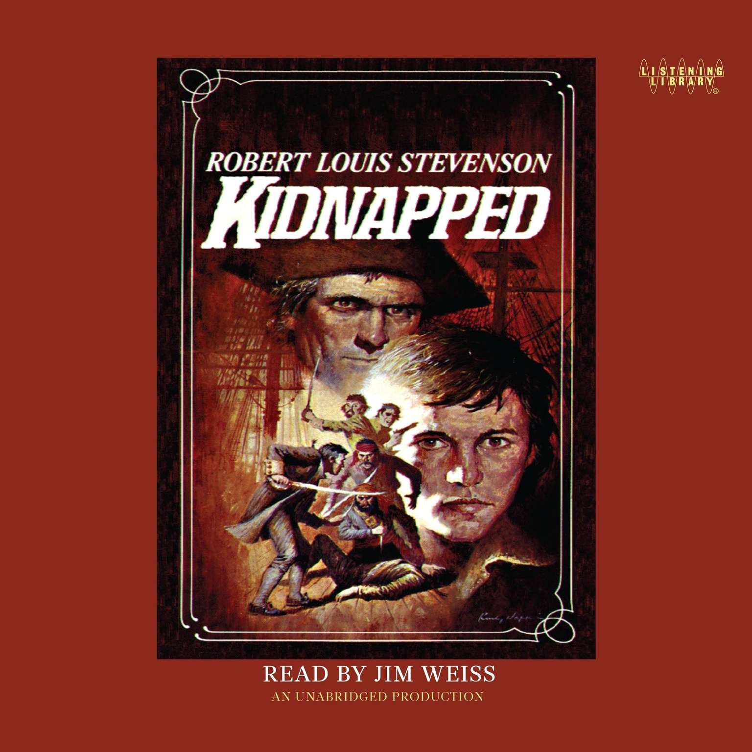 Printable Kidnapped Audiobook Cover Art