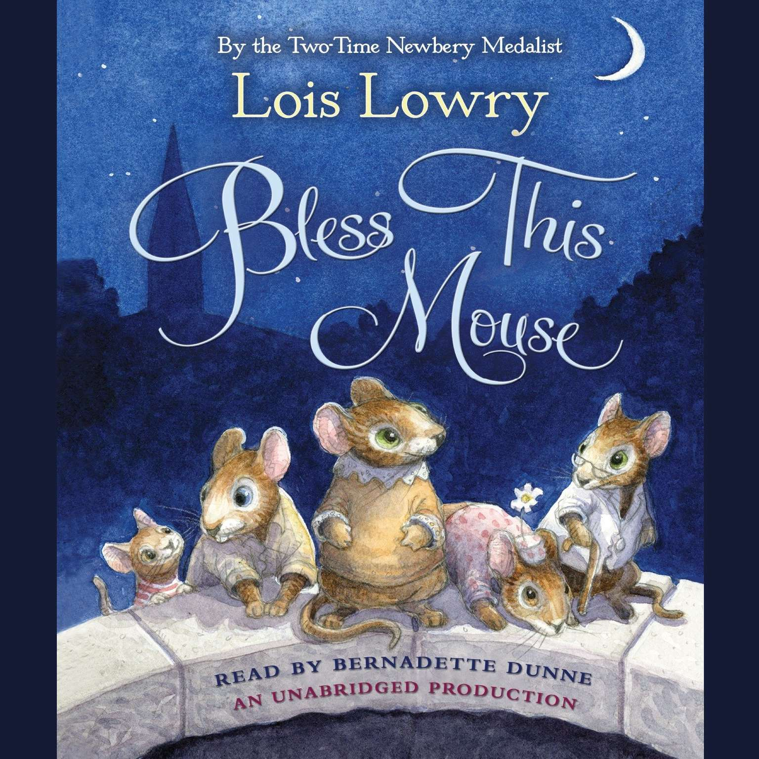 Printable Bless This Mouse Audiobook Cover Art