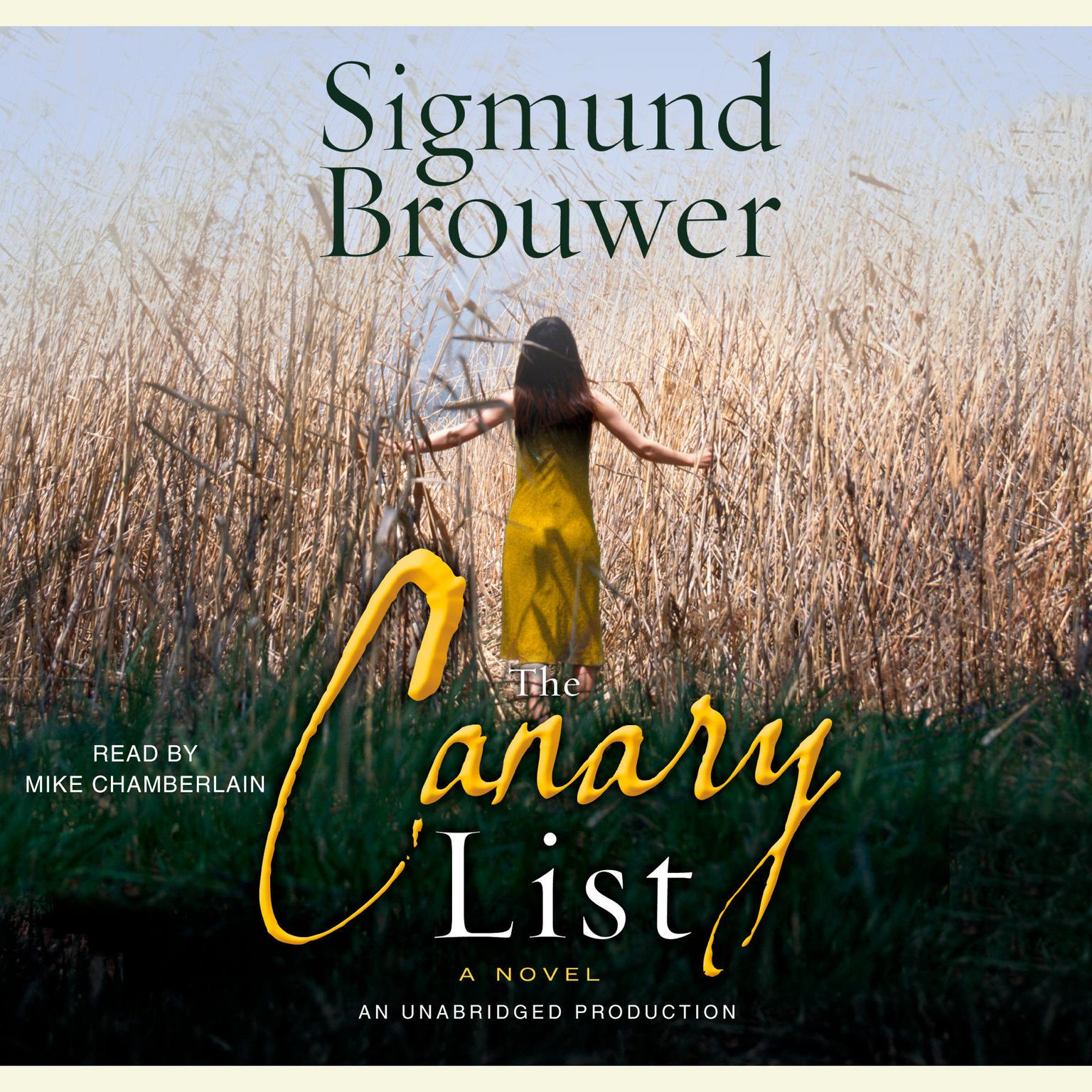Printable The Canary List Audiobook Cover Art