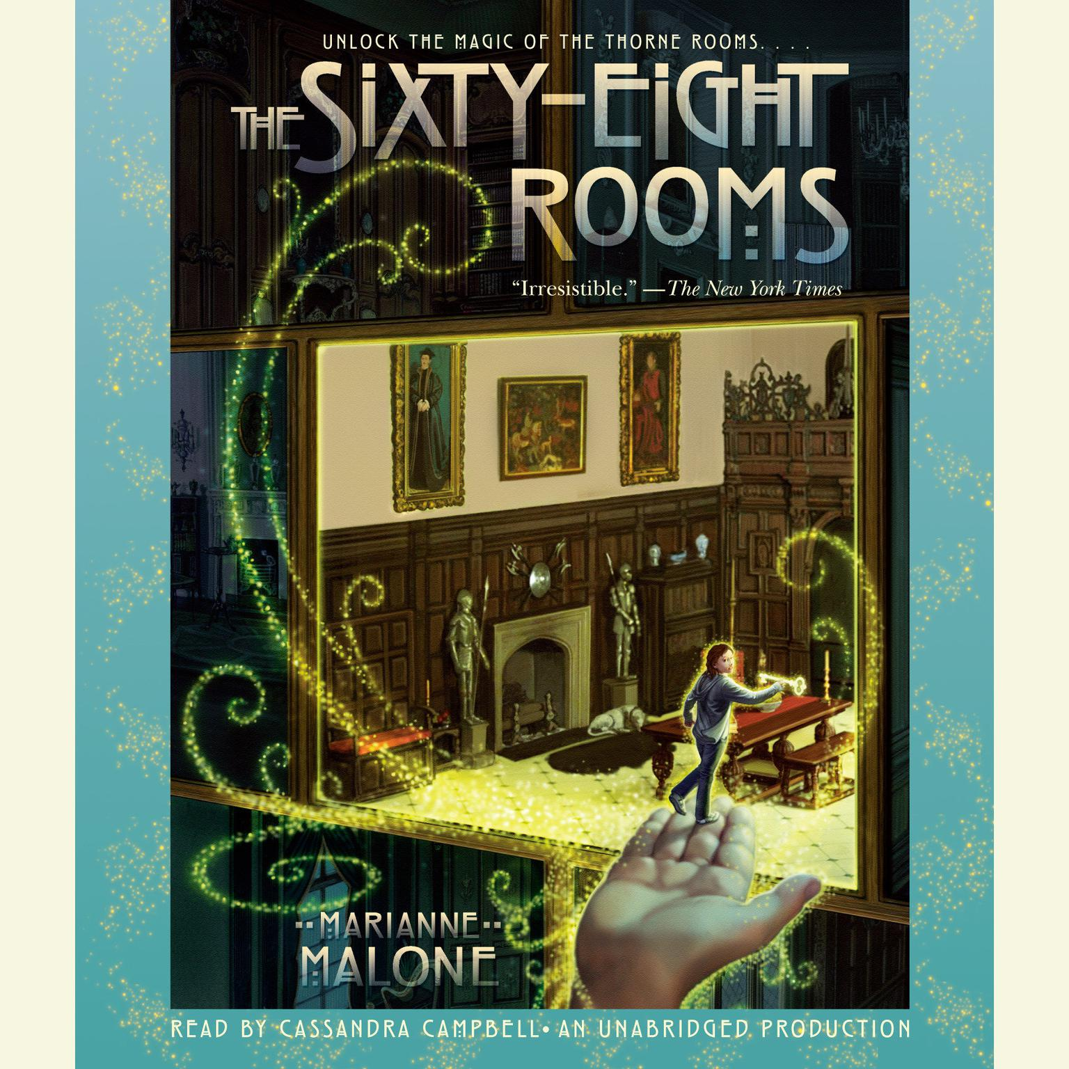 Printable The Sixty-Eight Rooms Audiobook Cover Art