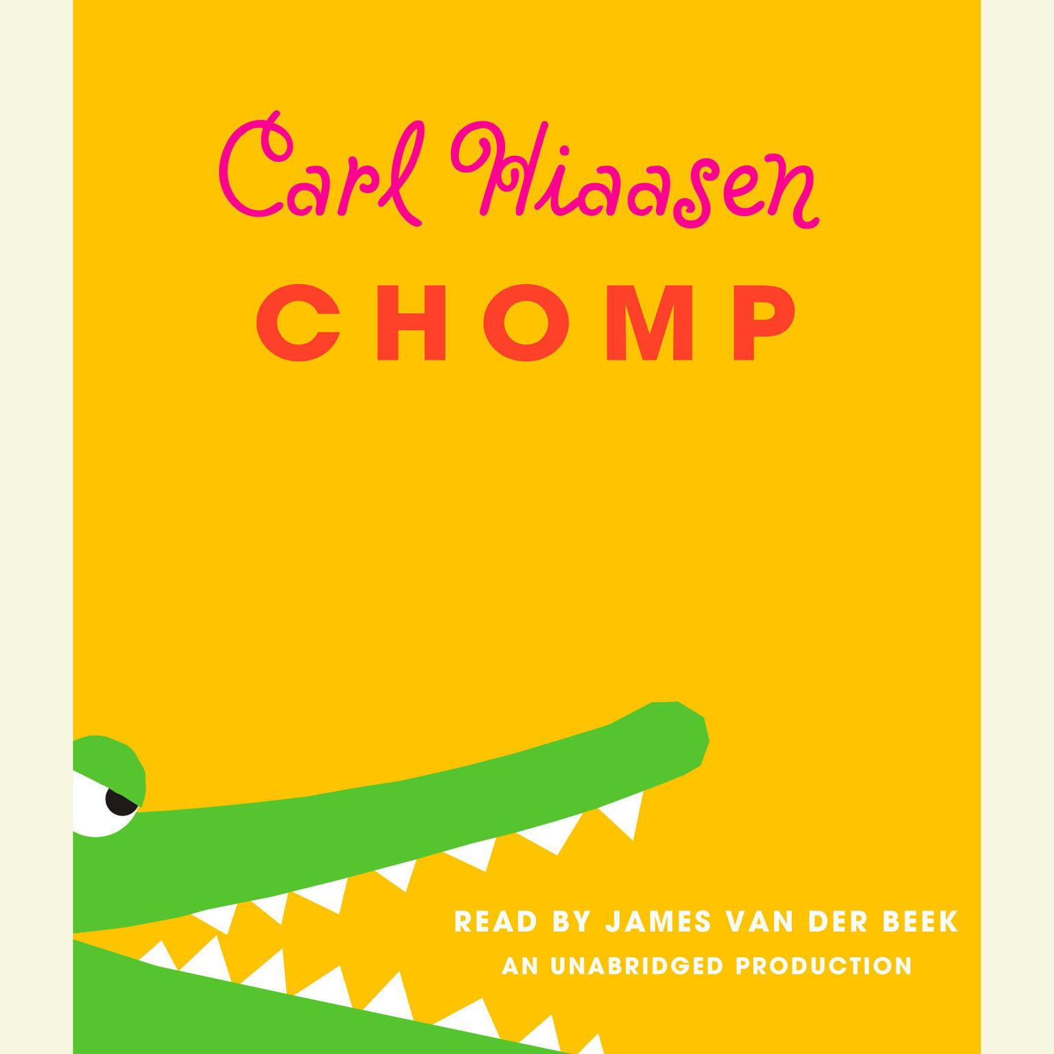 Printable Chomp Audiobook Cover Art
