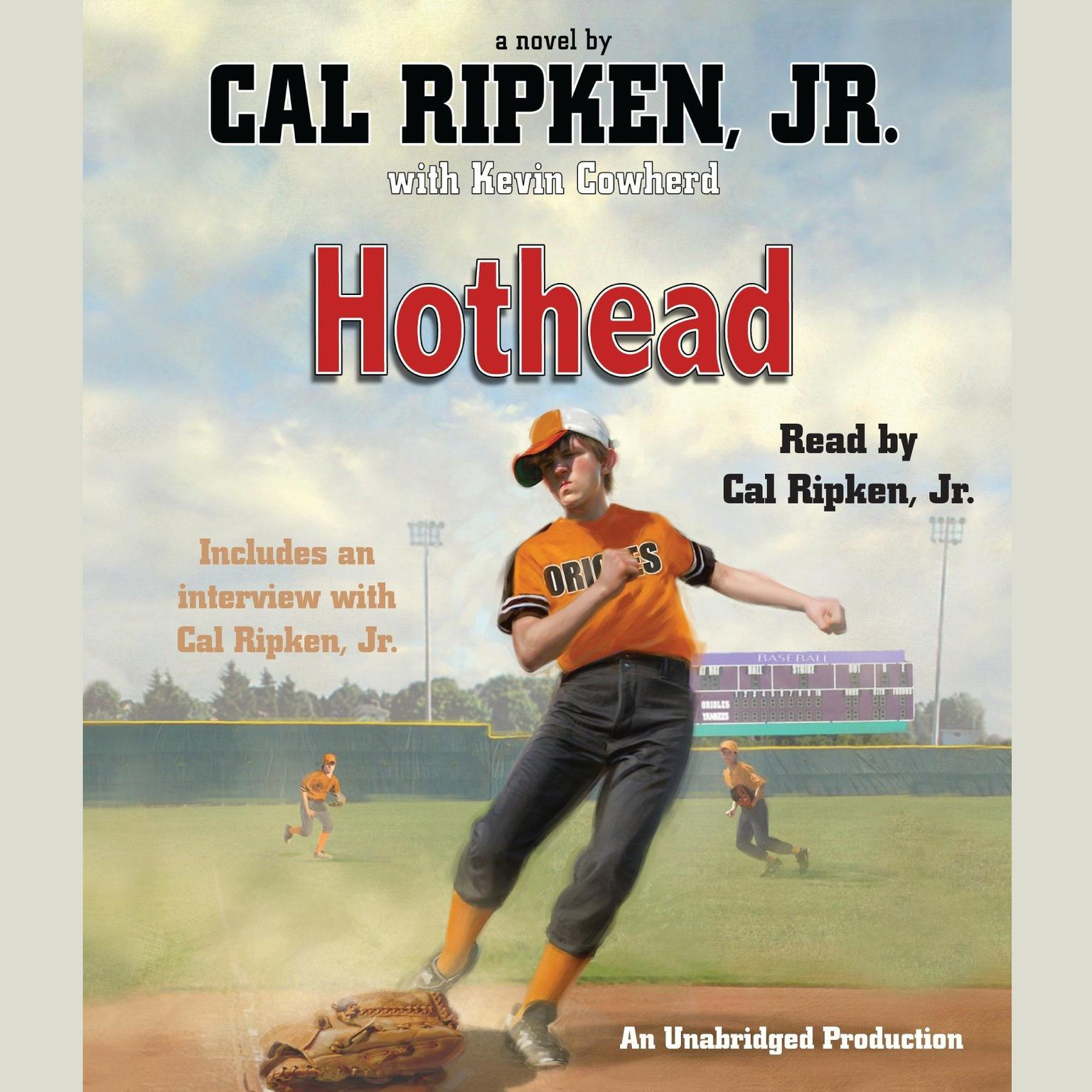 Printable Cal Ripken, Jr.'s All-Stars: Hothead Audiobook Cover Art