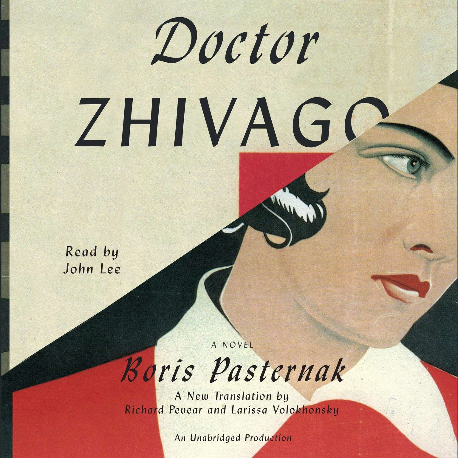 Printable Doctor Zhivago Audiobook Cover Art