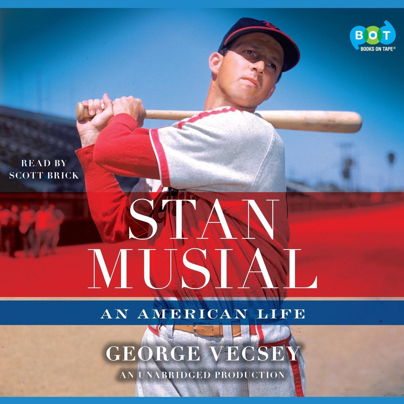 Printable Stan Musial: An American Life Audiobook Cover Art