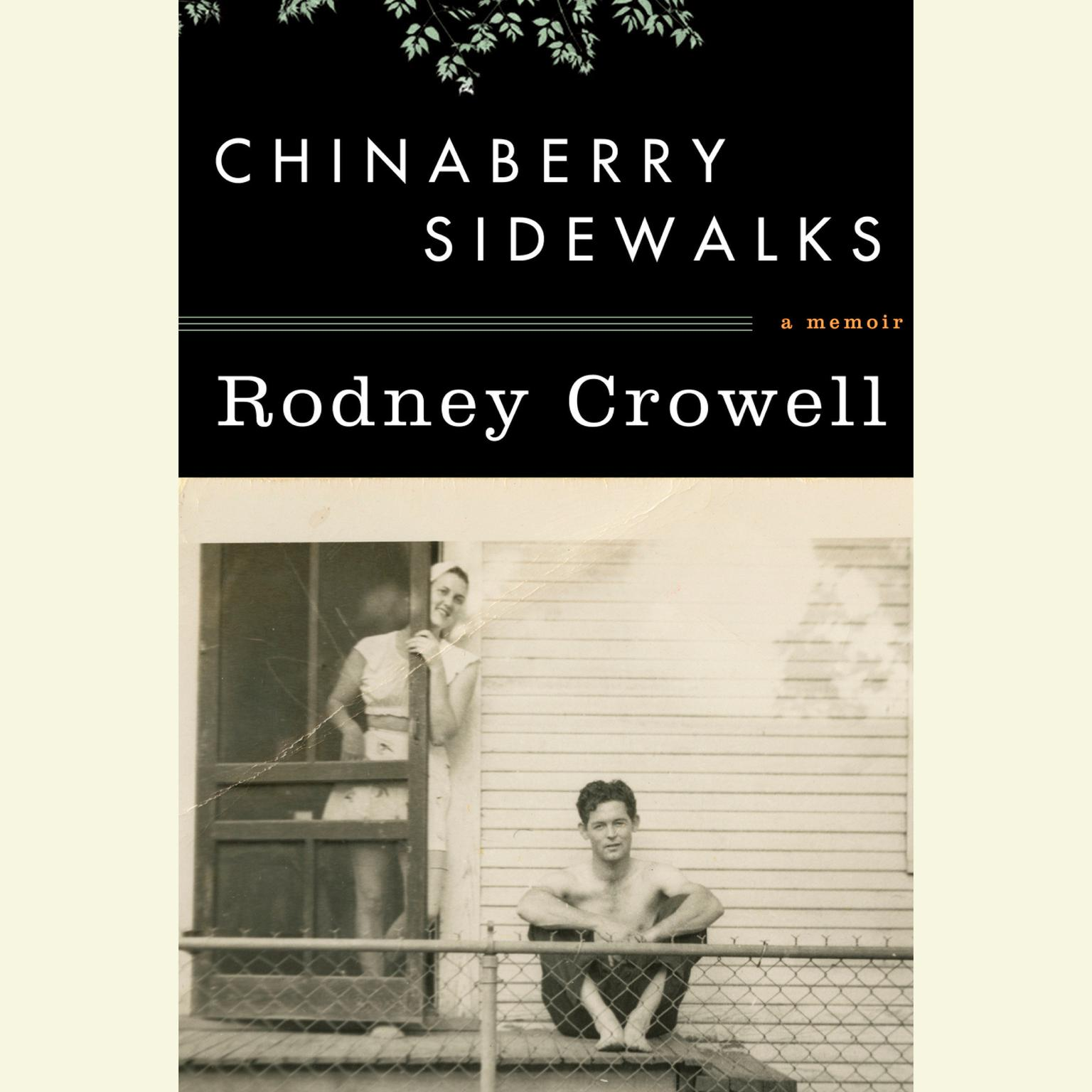 Printable Chinaberry Sidewalks Audiobook Cover Art