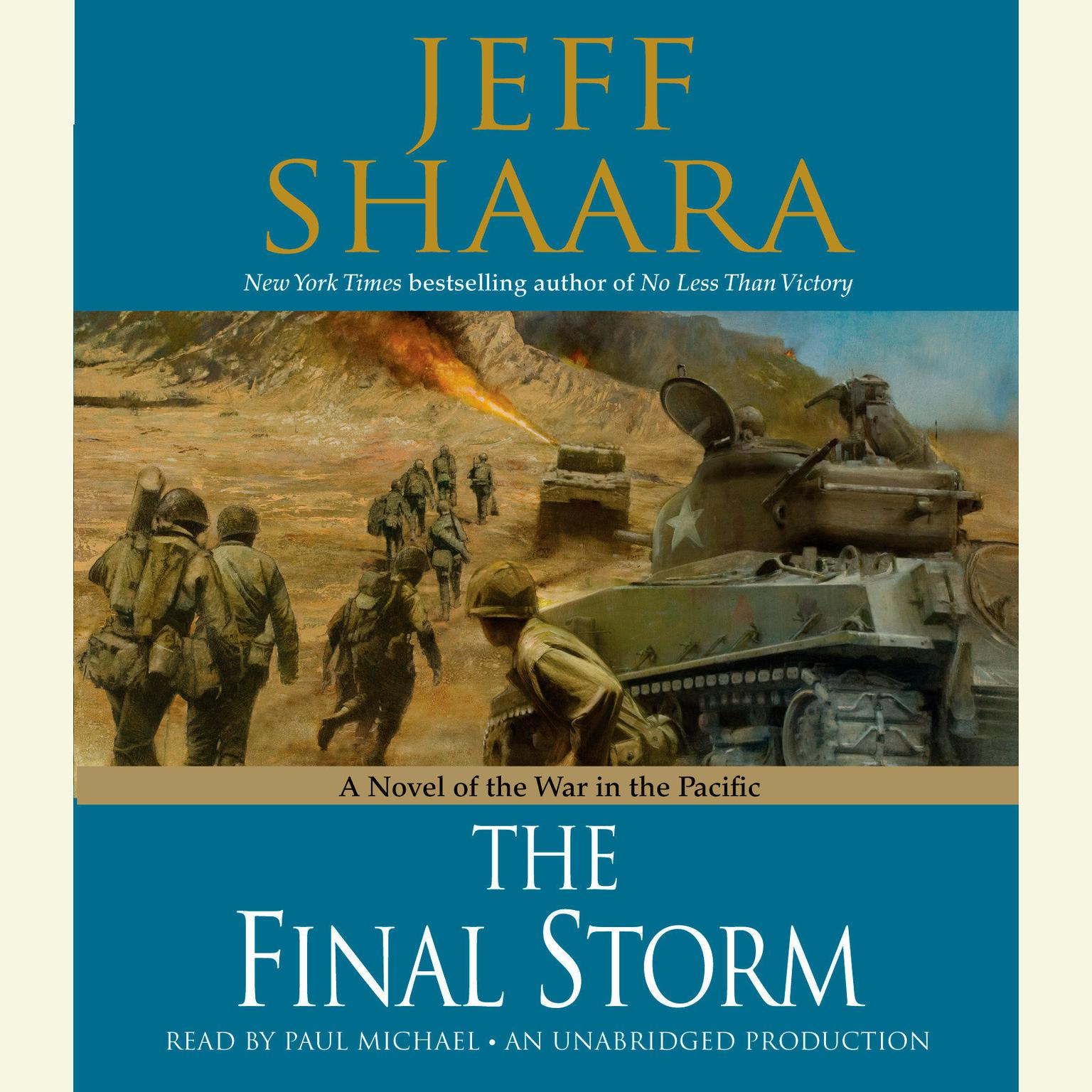 Printable The Final Storm: A Novel of the War in the Pacific Audiobook Cover Art