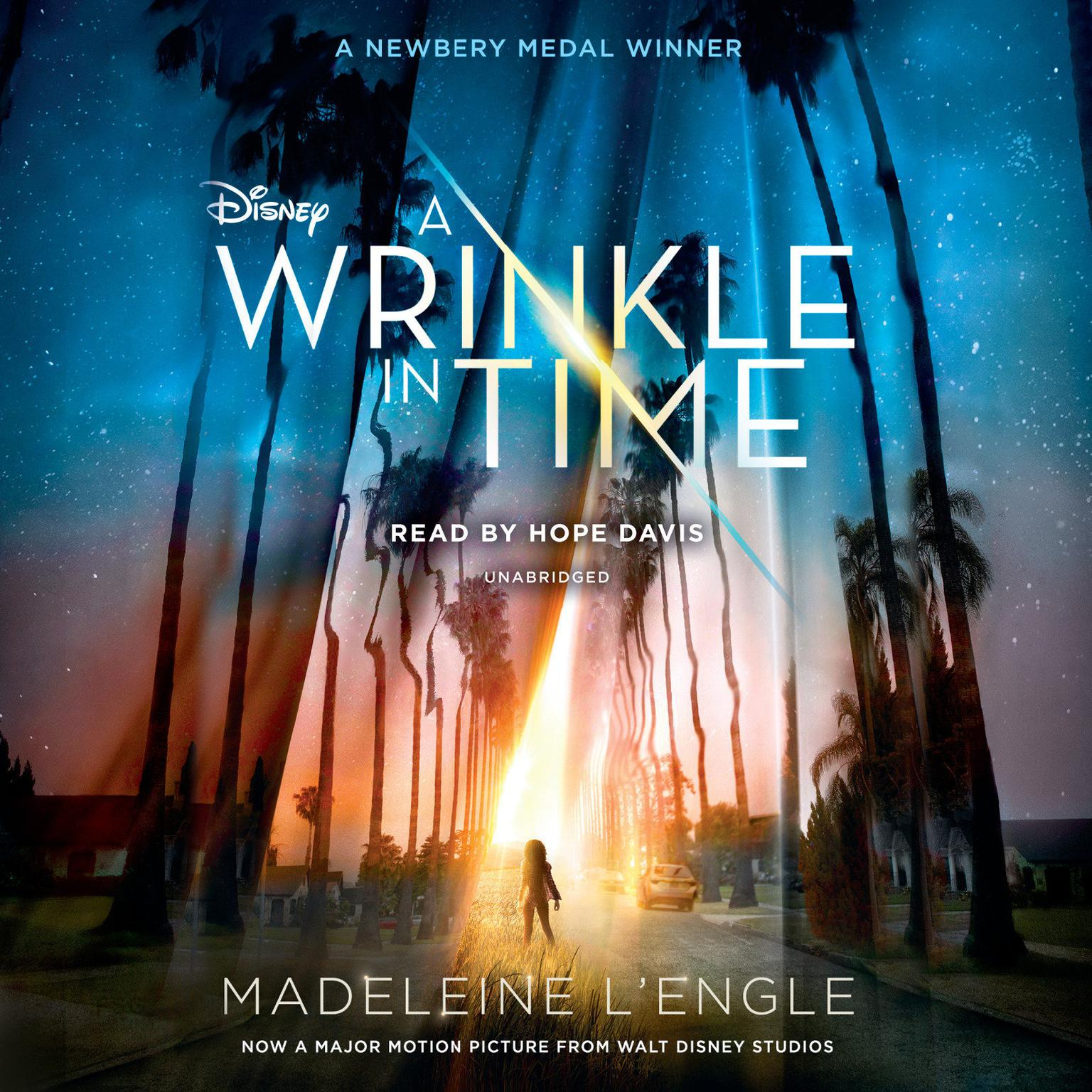 Printable A Wrinkle in Time Audiobook Cover Art