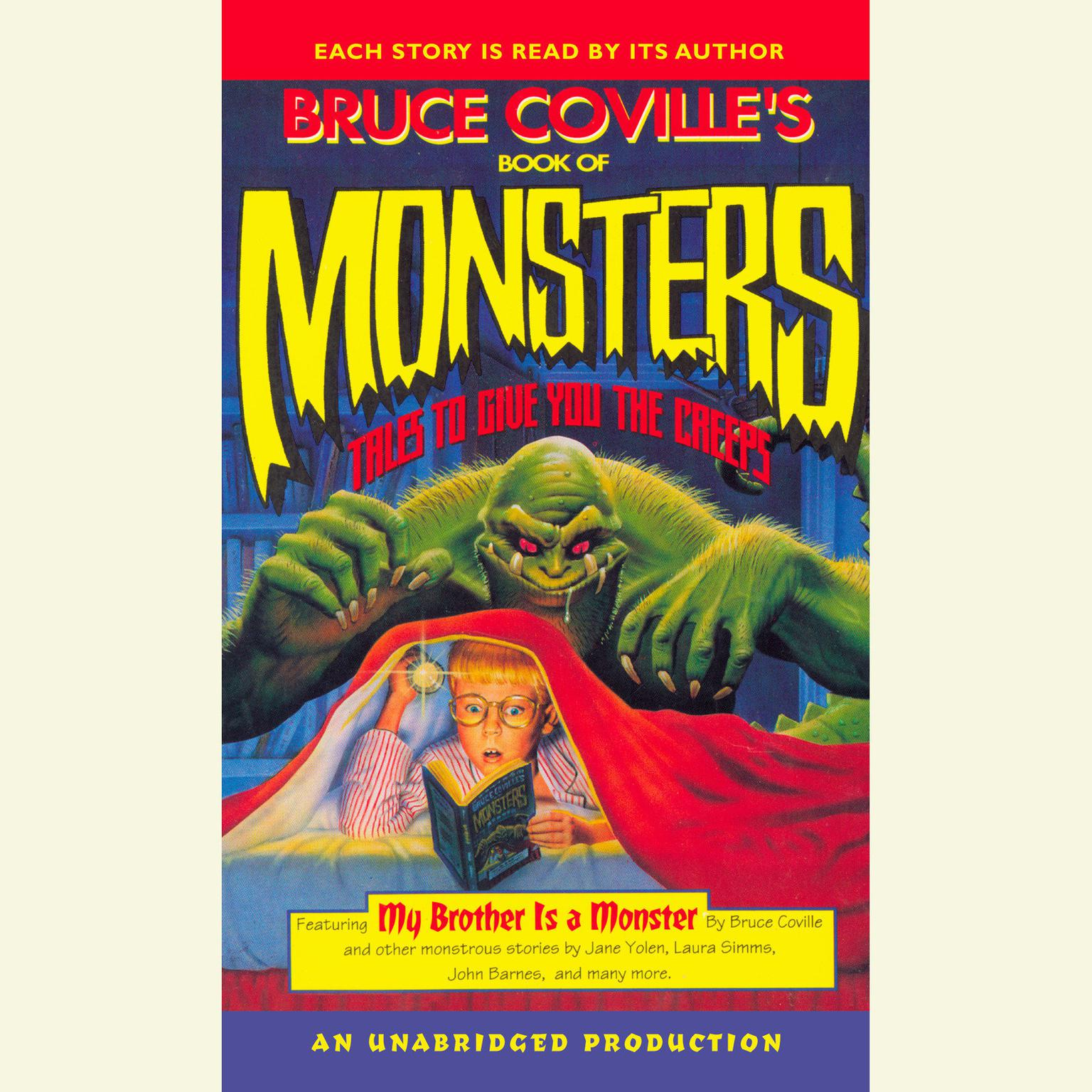 Printable Bruce Coville's Book of Monsters: Tales to Give You the Creeps Audiobook Cover Art