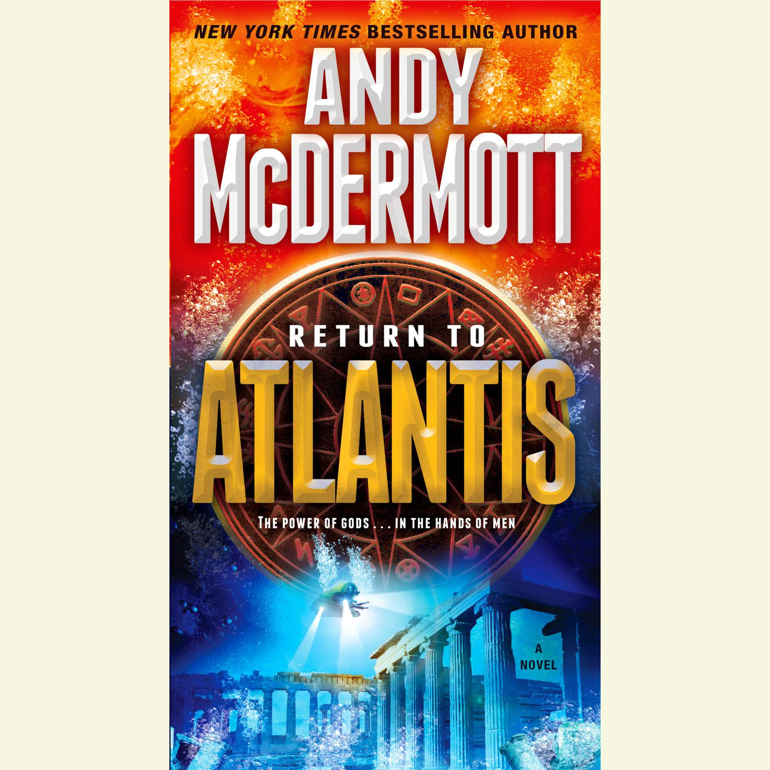 Printable Return to Atlantis Audiobook Cover Art