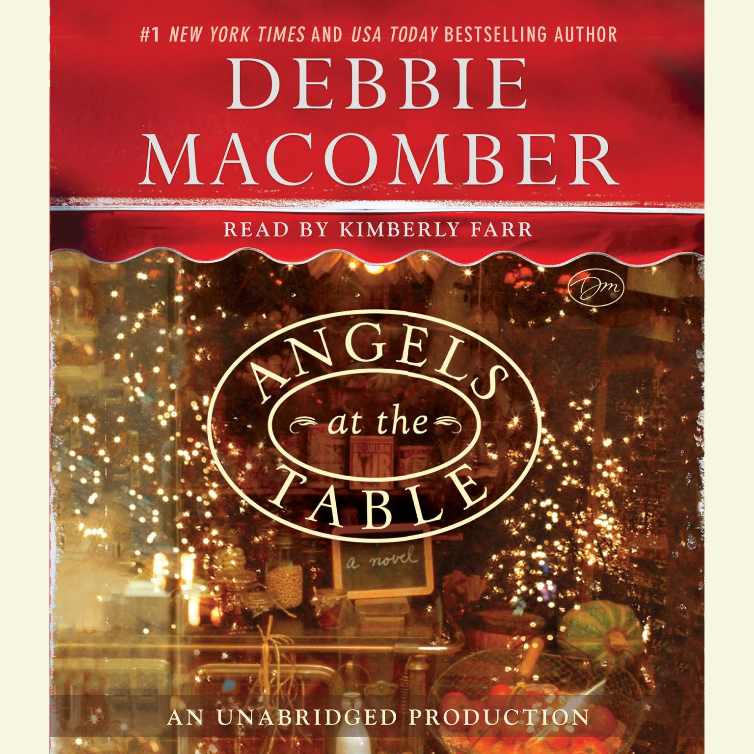 Printable Angels at the Table: A Shirley, Goodness, and Mercy Christmas Story Audiobook Cover Art