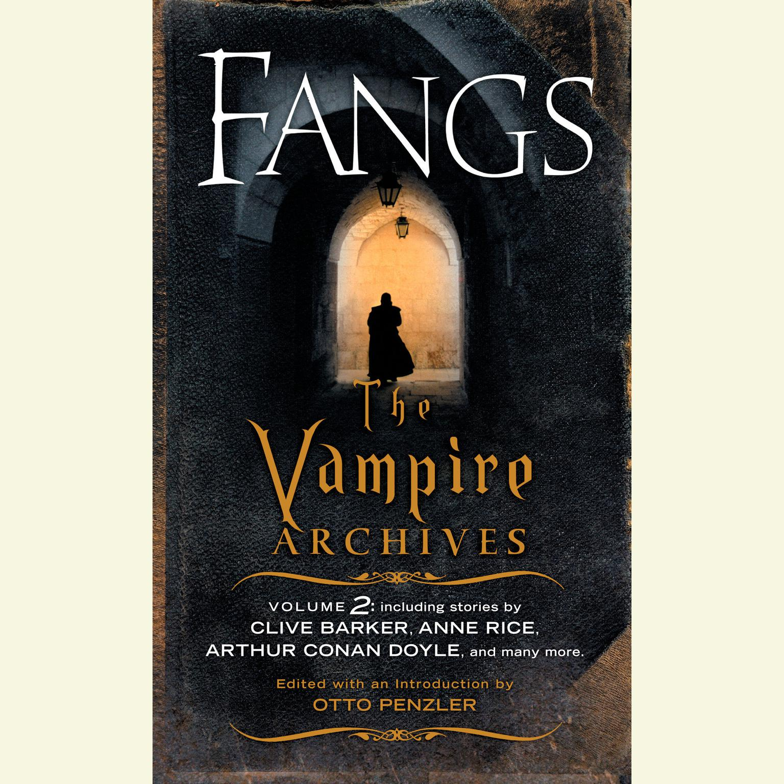 Printable Fangs: The Vampire Archives, Volume 2 Audiobook Cover Art