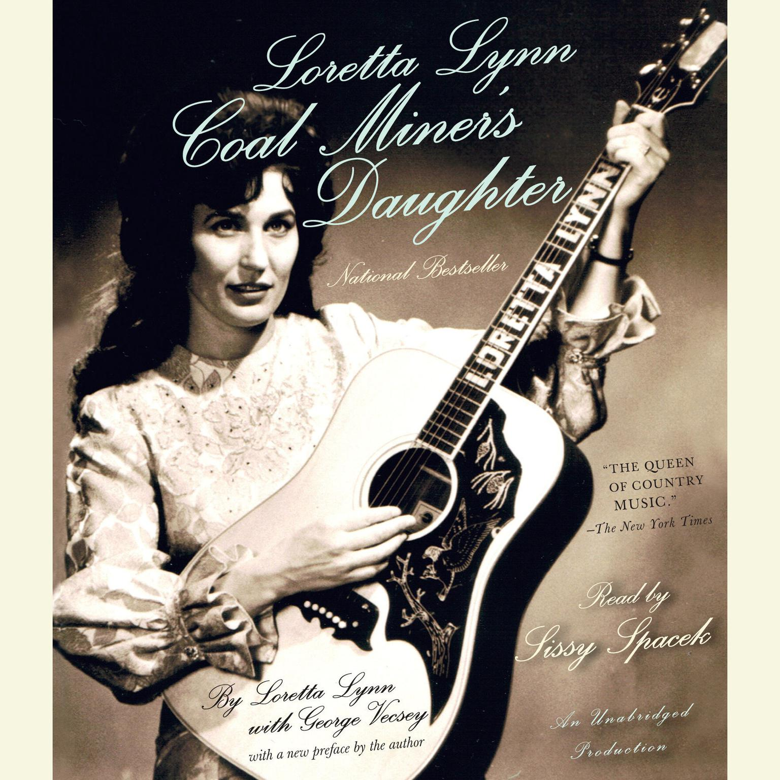 Printable Loretta Lynn: Coal Miner's Daughter Audiobook Cover Art