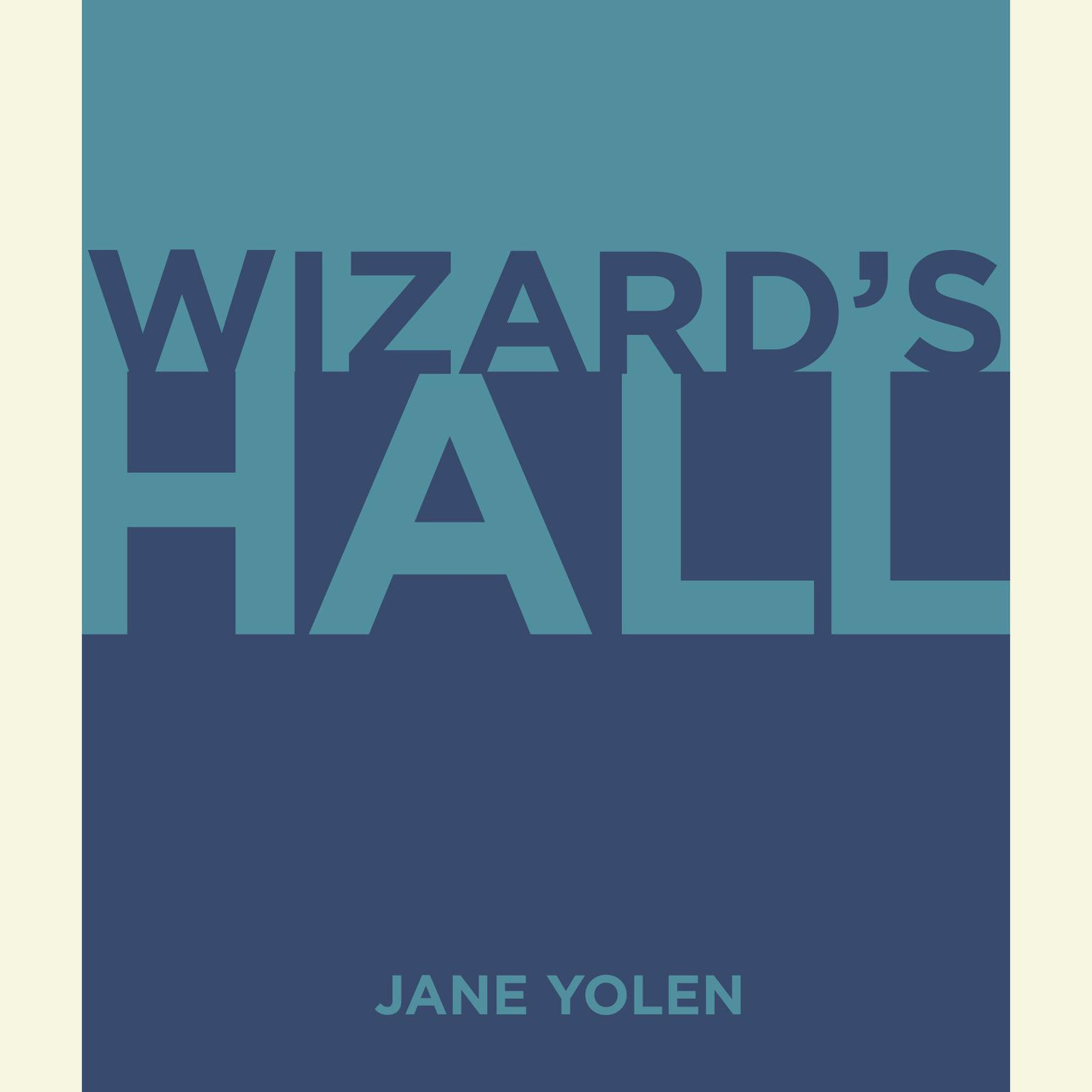 Printable Wizard's Hall Audiobook Cover Art