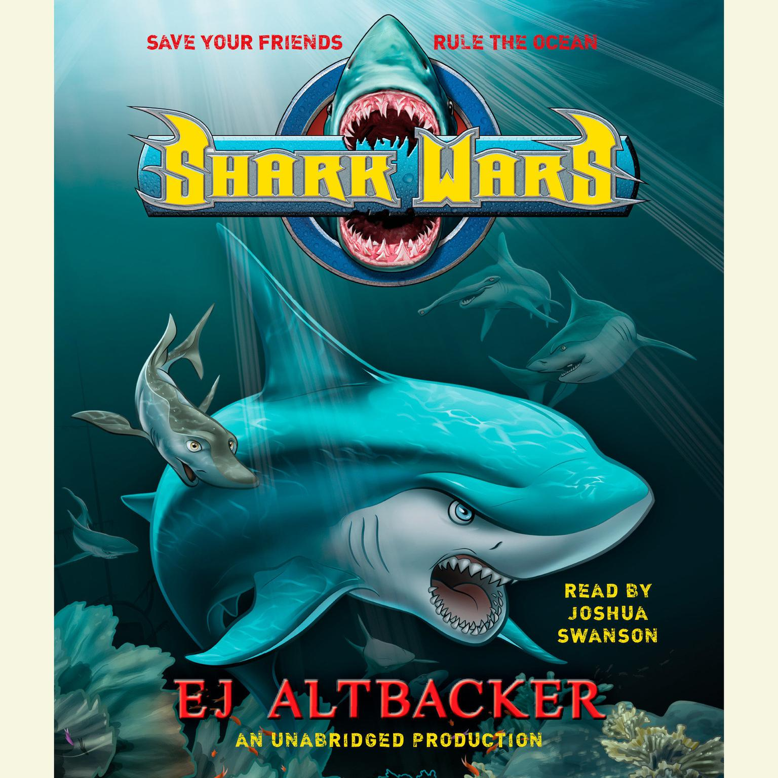 Printable Shark Wars Audiobook Cover Art