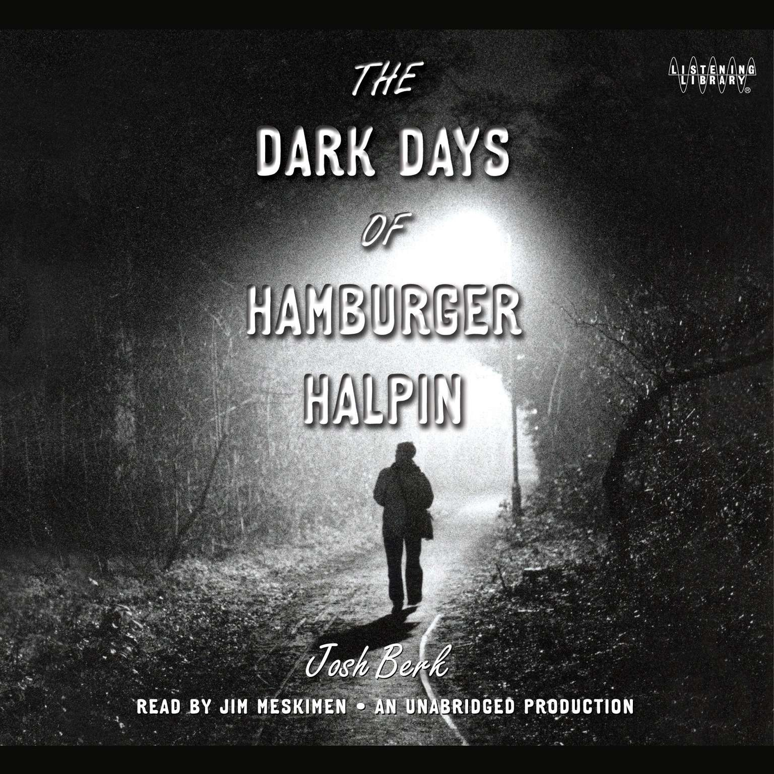 Printable The Dark Days of Hamburger Halpin Audiobook Cover Art