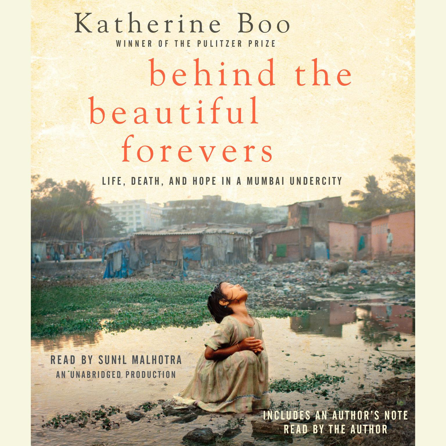 Printable Behind the Beautiful Forevers: Life, death, and hope in a Mumbai undercity Audiobook Cover Art