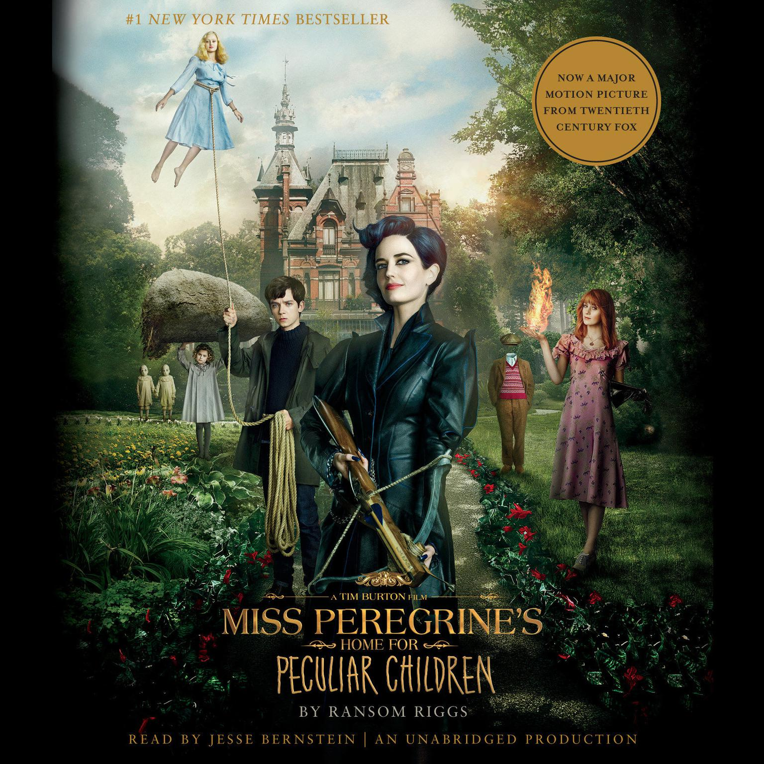 Printable Miss Peregrine's Home for Peculiar Children Audiobook Cover Art