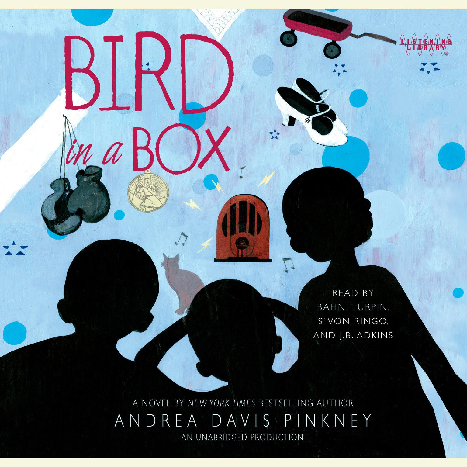 Printable Bird in a Box Audiobook Cover Art