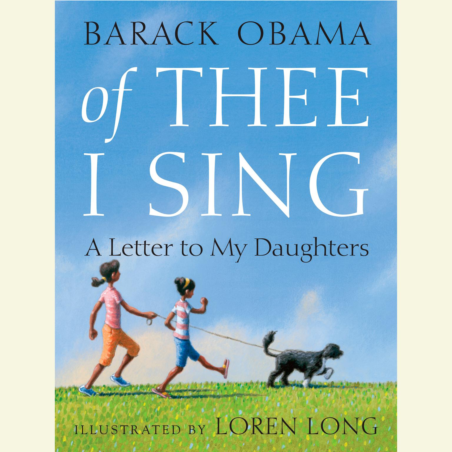 Printable Of Thee I Sing: A Letter to My Daughters Audiobook Cover Art