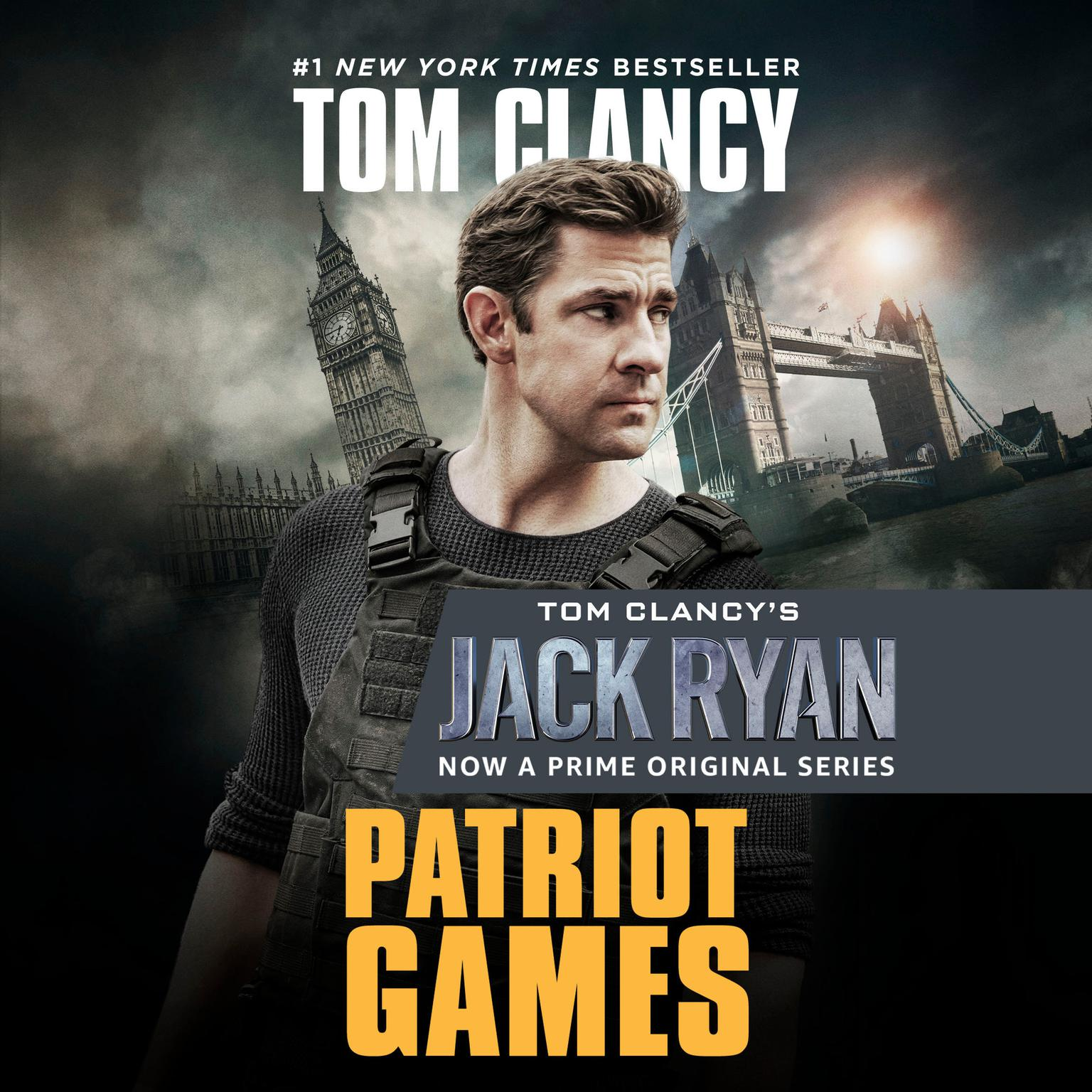 Printable Patriot Games Audiobook Cover Art